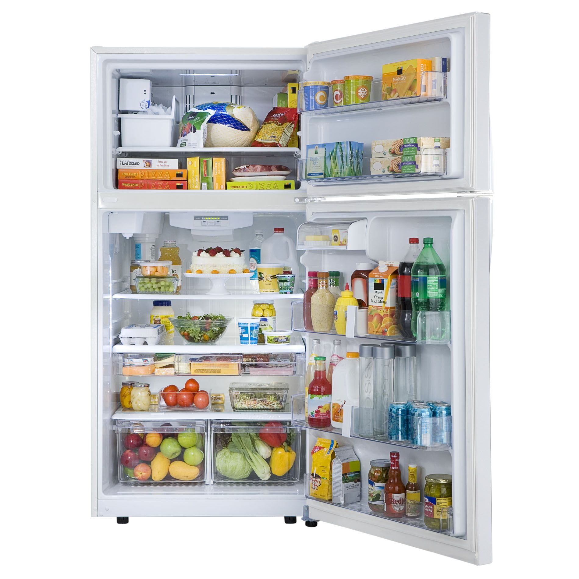 "Kenmore 79432 23.8 cu. ft. 33"" Top-Freezer Refrigerator w/ Internal Water Dispenser - White"