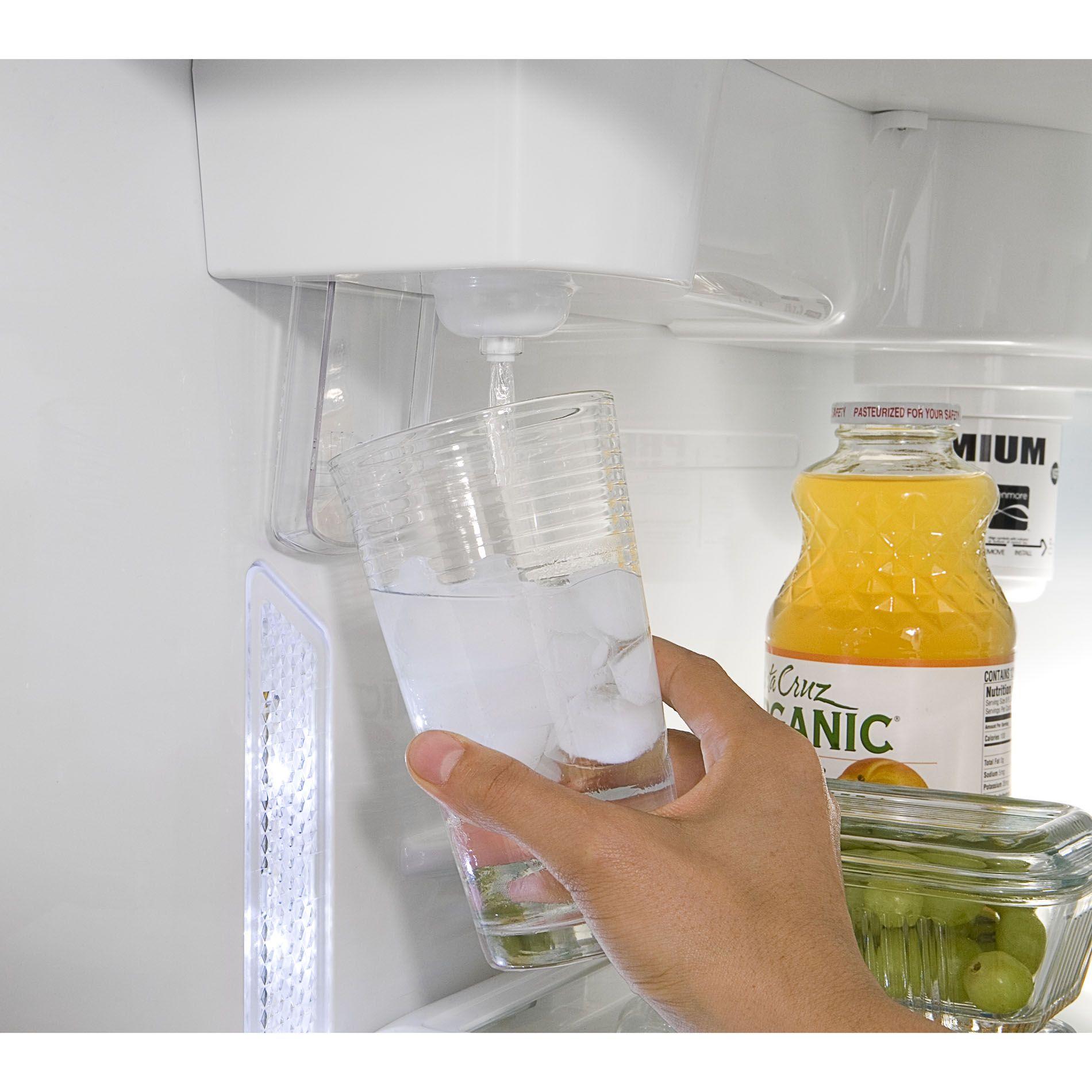 Kenmore 24 cu. ft.  Top-Freezer Refrigerator w/ Internal Water Dispenser - Black