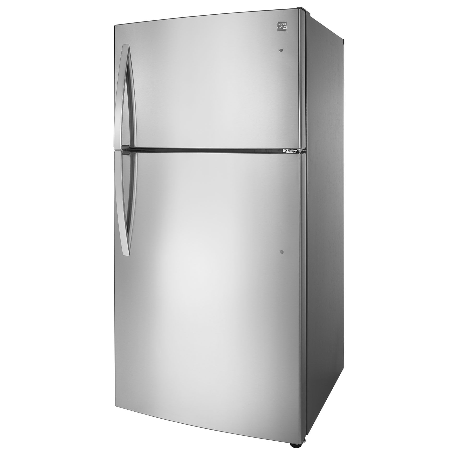 "Kenmore 79433 23.8 cu. ft. 33"" Top-Freezer Refrigerator w/ Internal Water Dispenser - Stainless Steel"