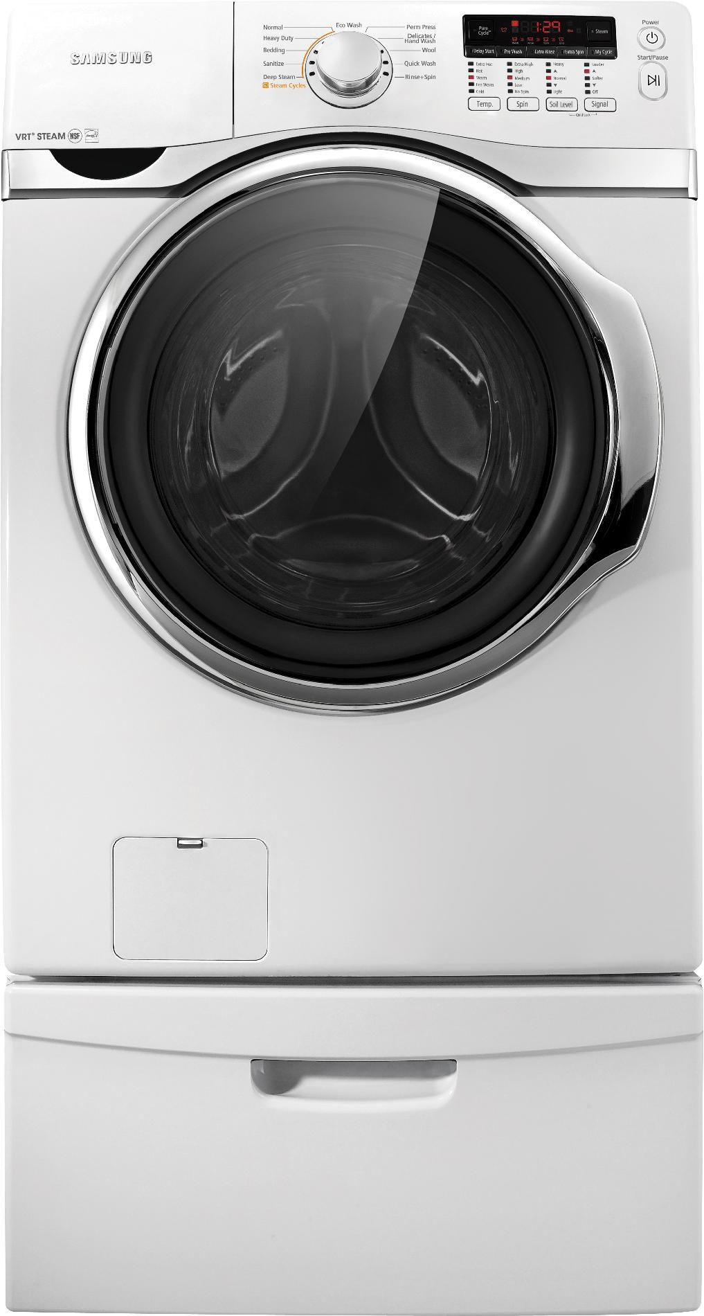 Samsung 3.9 cu. ft. Front-Load Washer - White