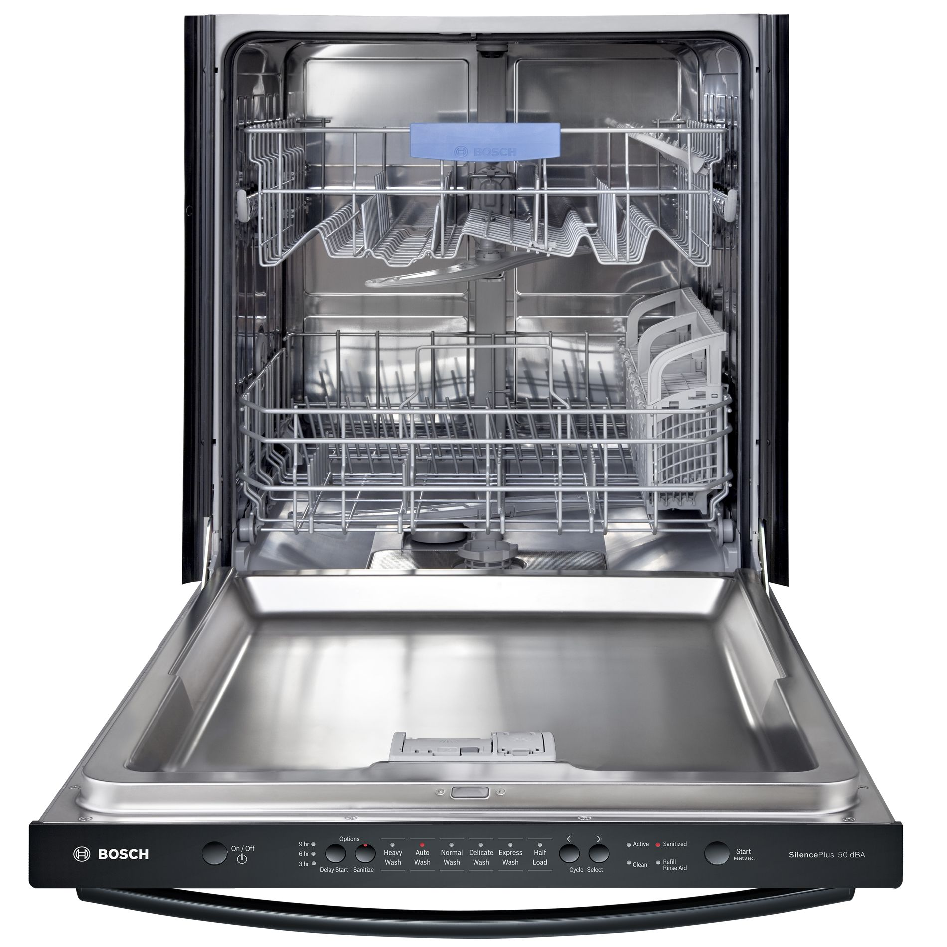 "Bosch SHX3AR76UC 24"" Built-In Dishwasher - Black"