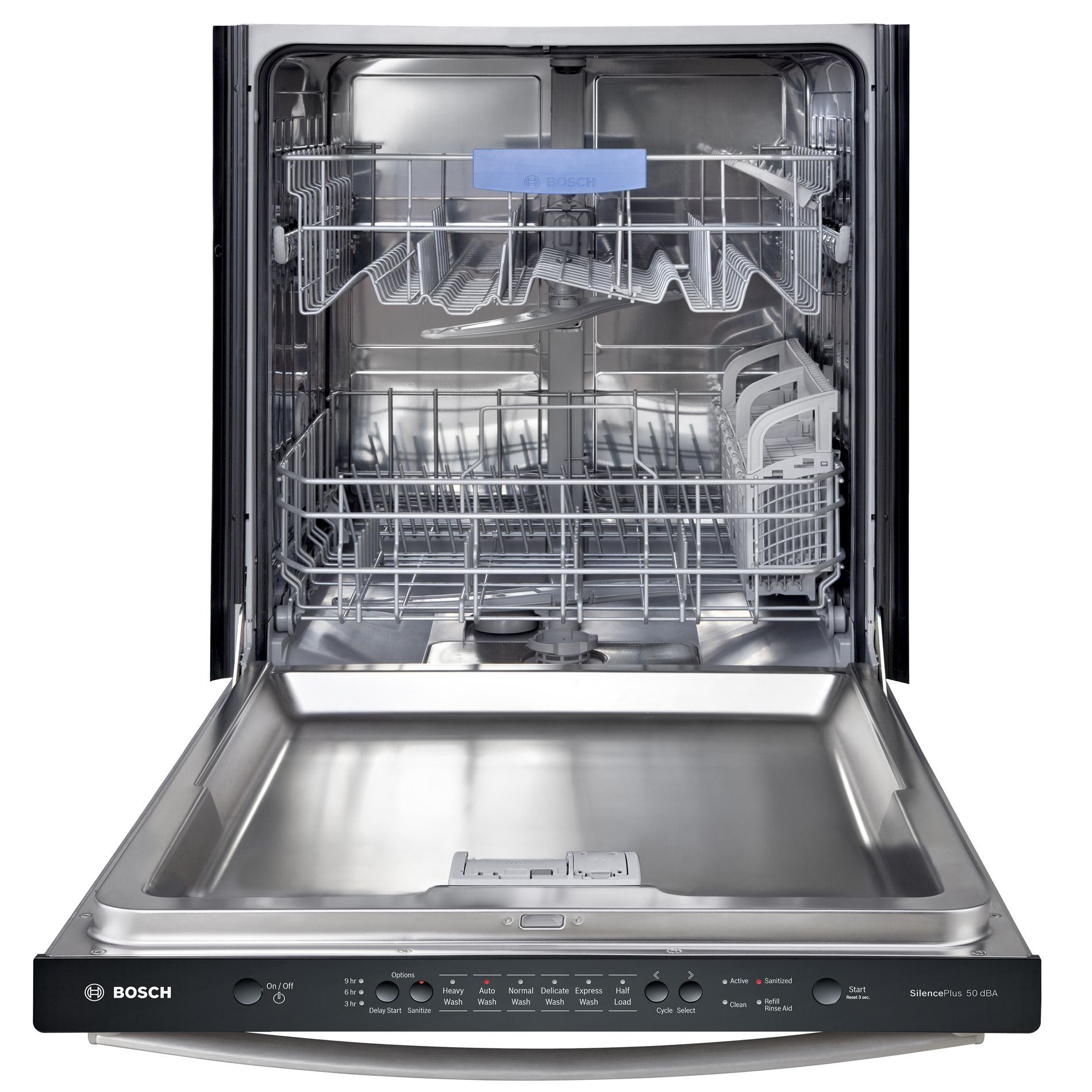 "Bosch SHX3AR75UC 24"" Built-In Dishwasher - Stainless Steel"