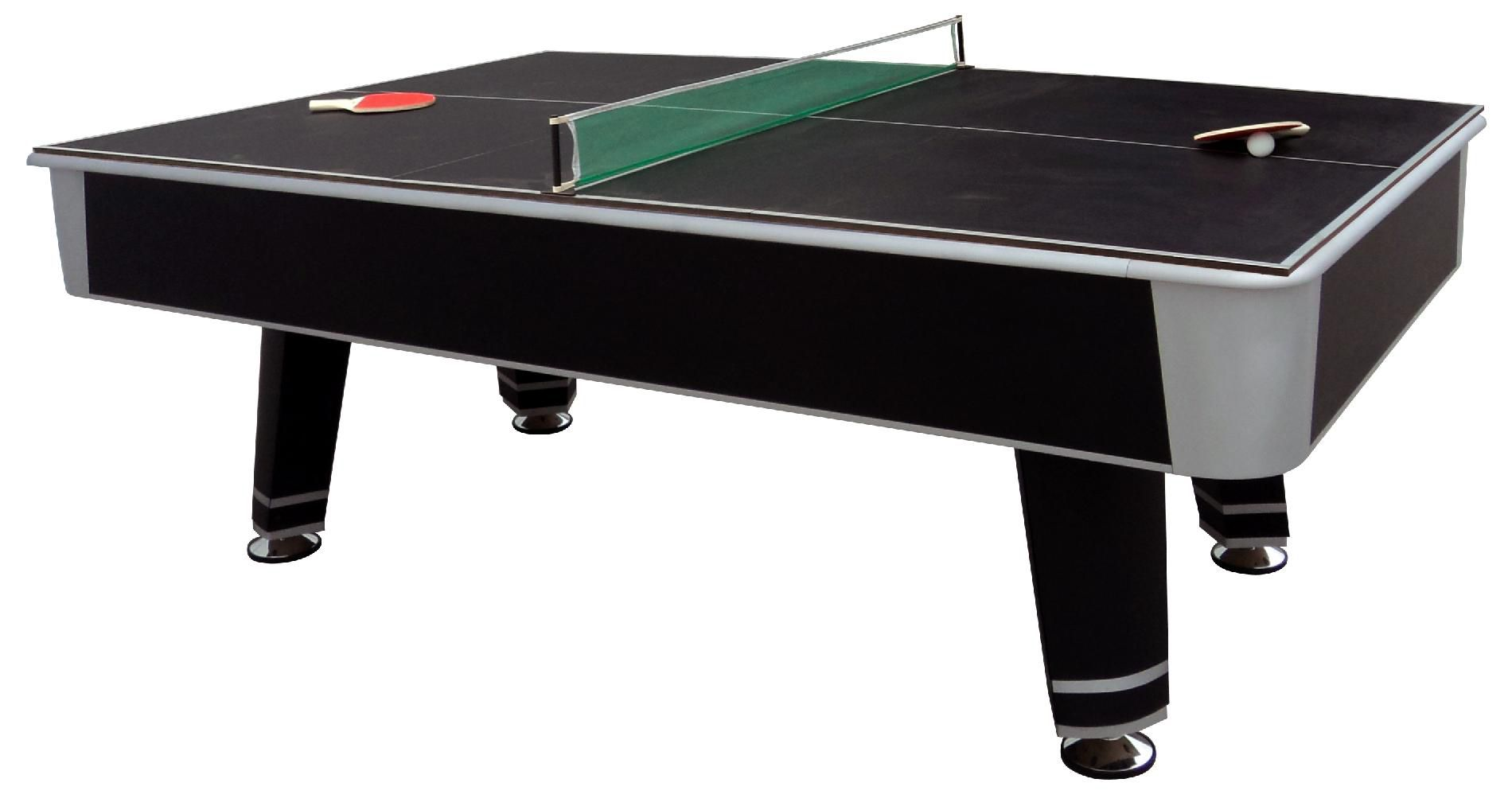MD Sports 7.5ft Clifton Billiard Table with Bonus Table Tennis Top