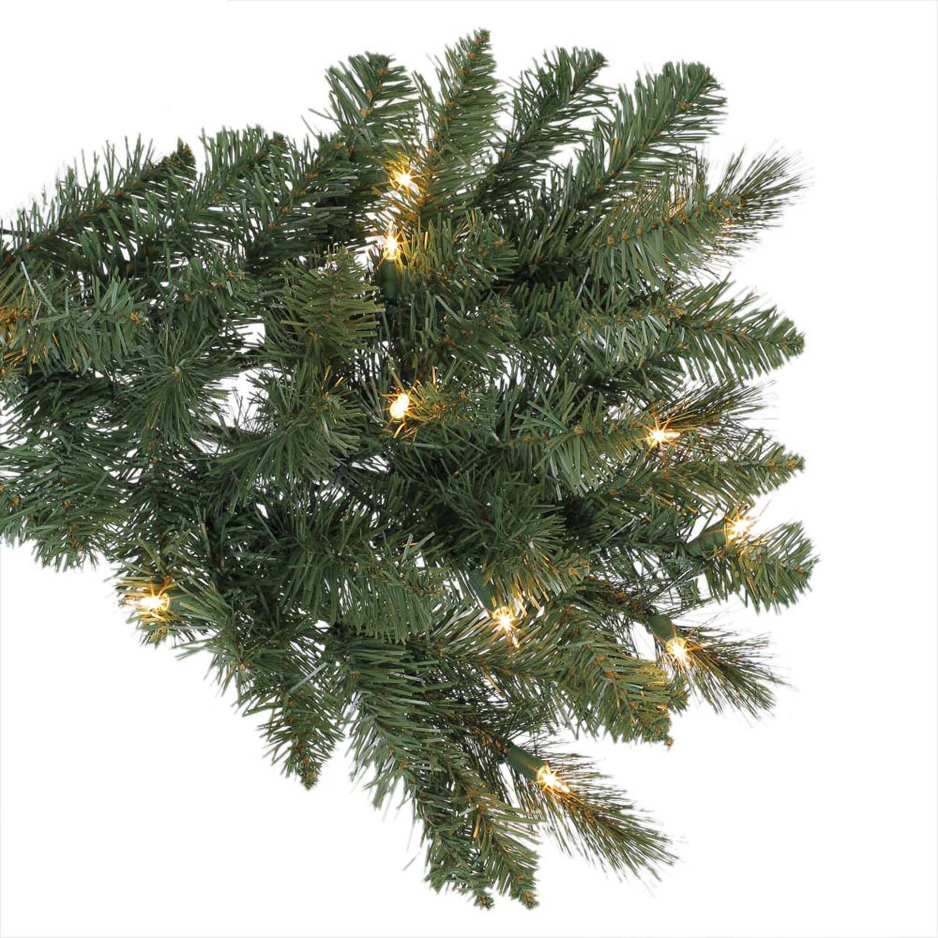 Ty Pennington Style 7.5ft Brentwood Spruce Christmas Tree with 600 Never-Out Clear Lights