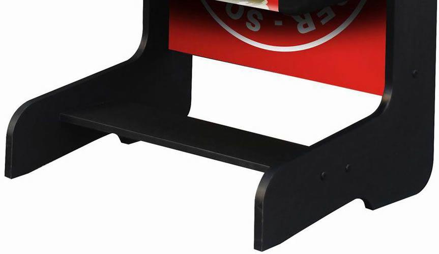 "Playcraft Sport 48"" Foosball Table with Folding Leg - Red"