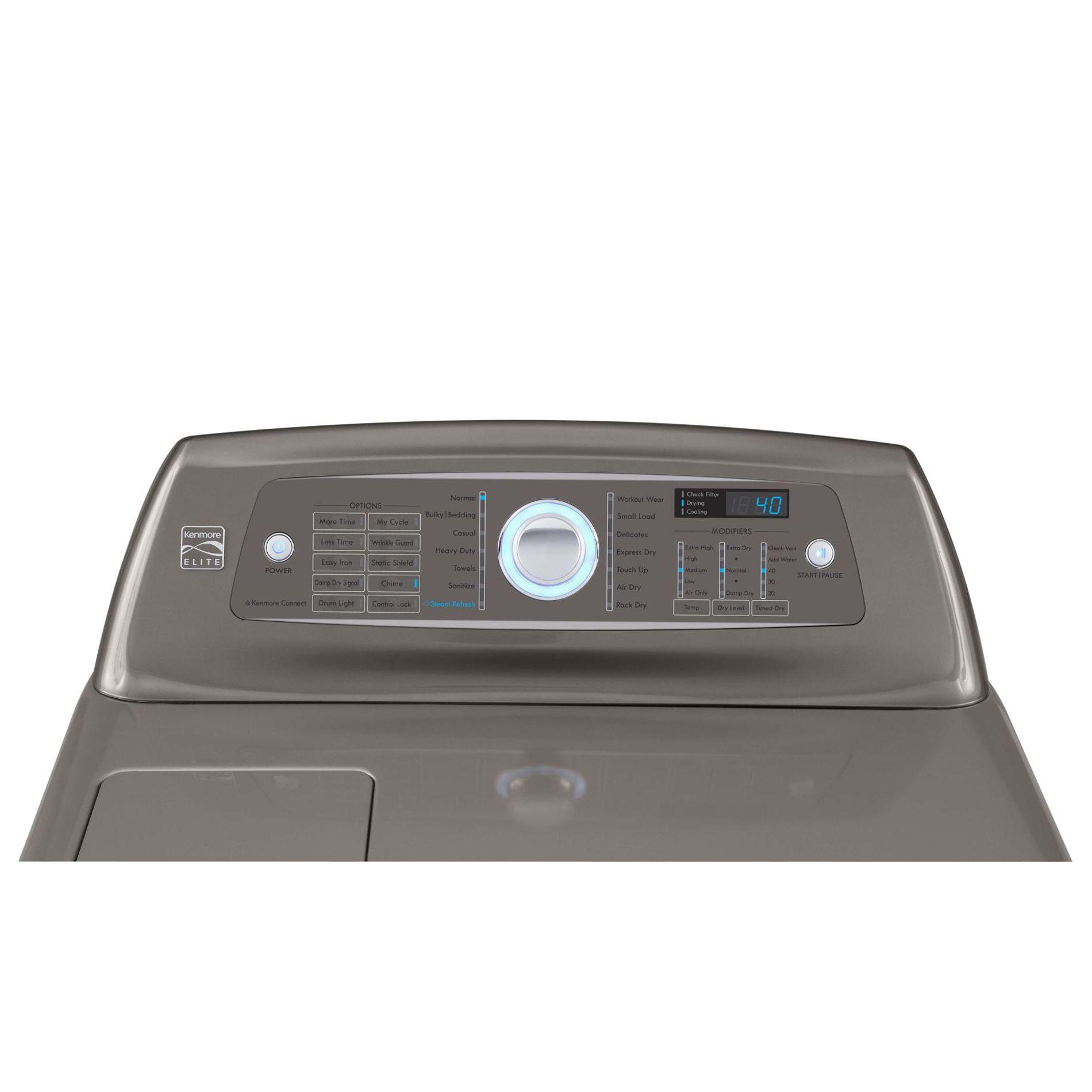 Kenmore Elite 7.3 cu. ft. Electric Dryer - Metallic