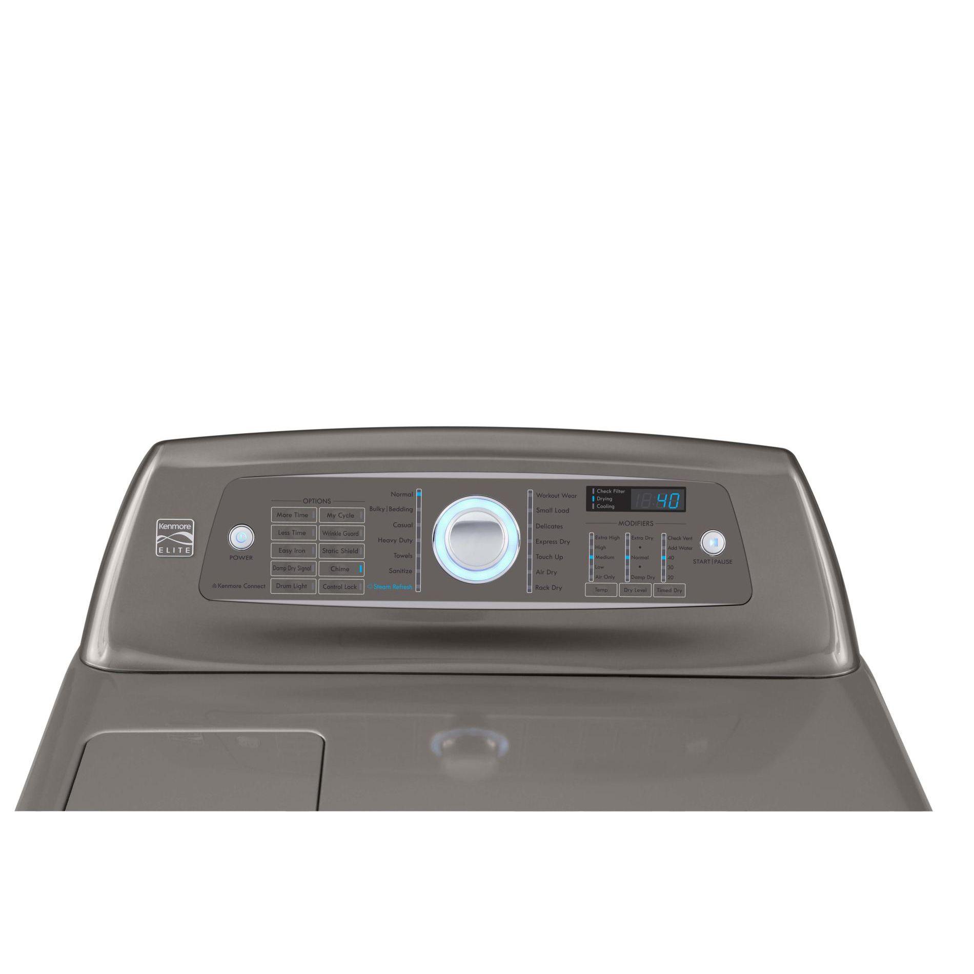 Kenmore Elite 7.3 cu. ft. Gas Dryer - Metallic