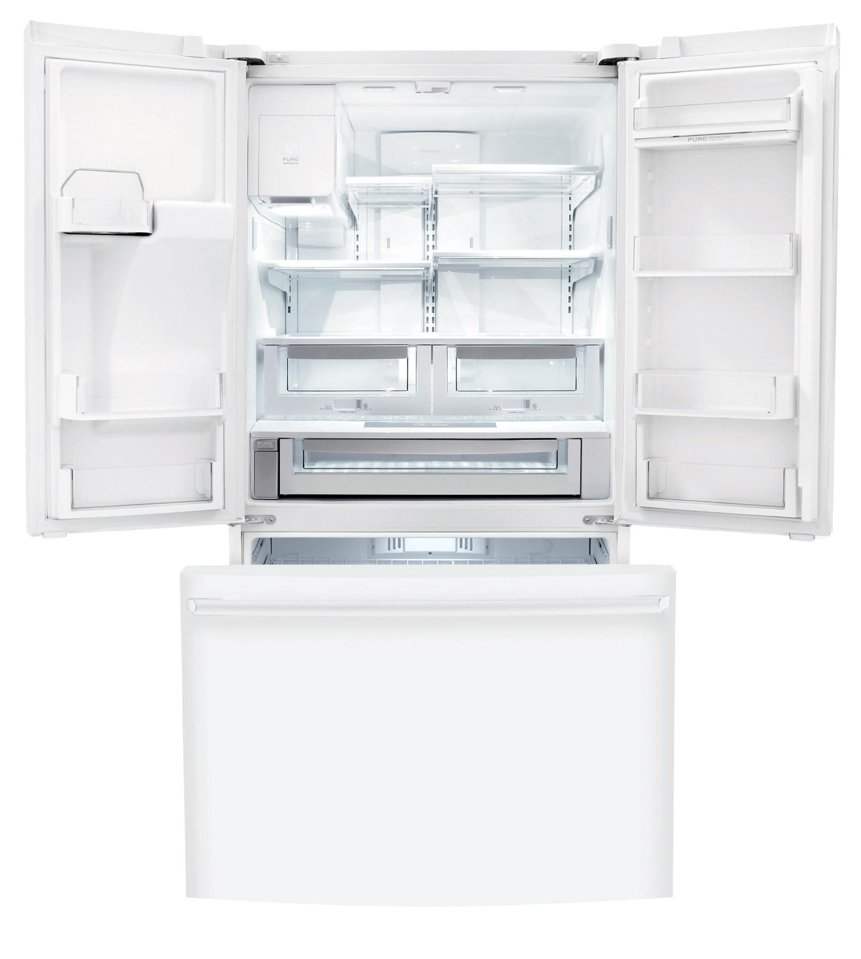 Electrolux 23 cu. ft. Counter-depth French Door Refrigerator with IQ-Touch™ Controls - White