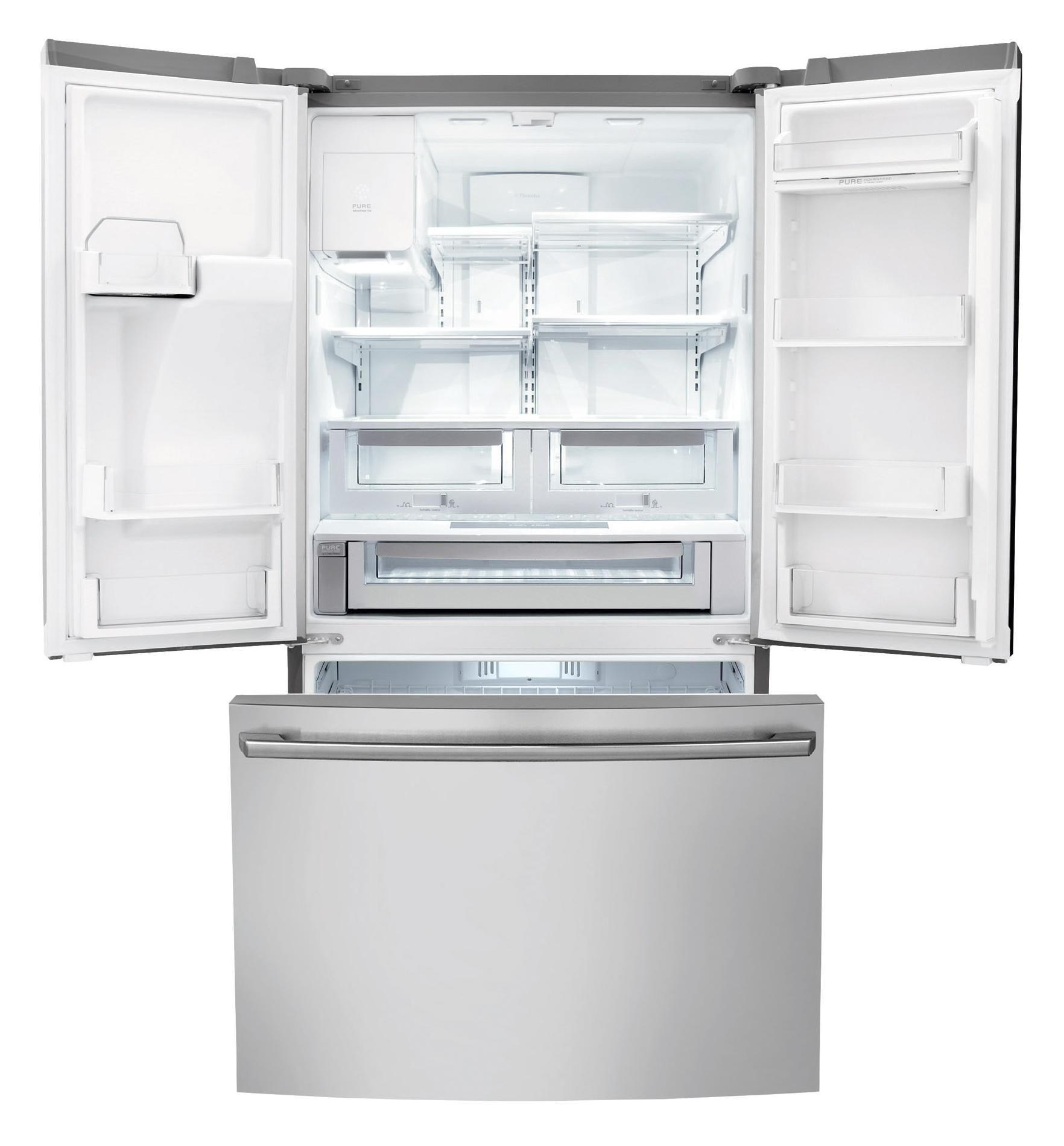 Electrolux 23 cu. ft. Counter-depth French Door Refrigerator with IQ-Touch™ Controls - Stainless Steel