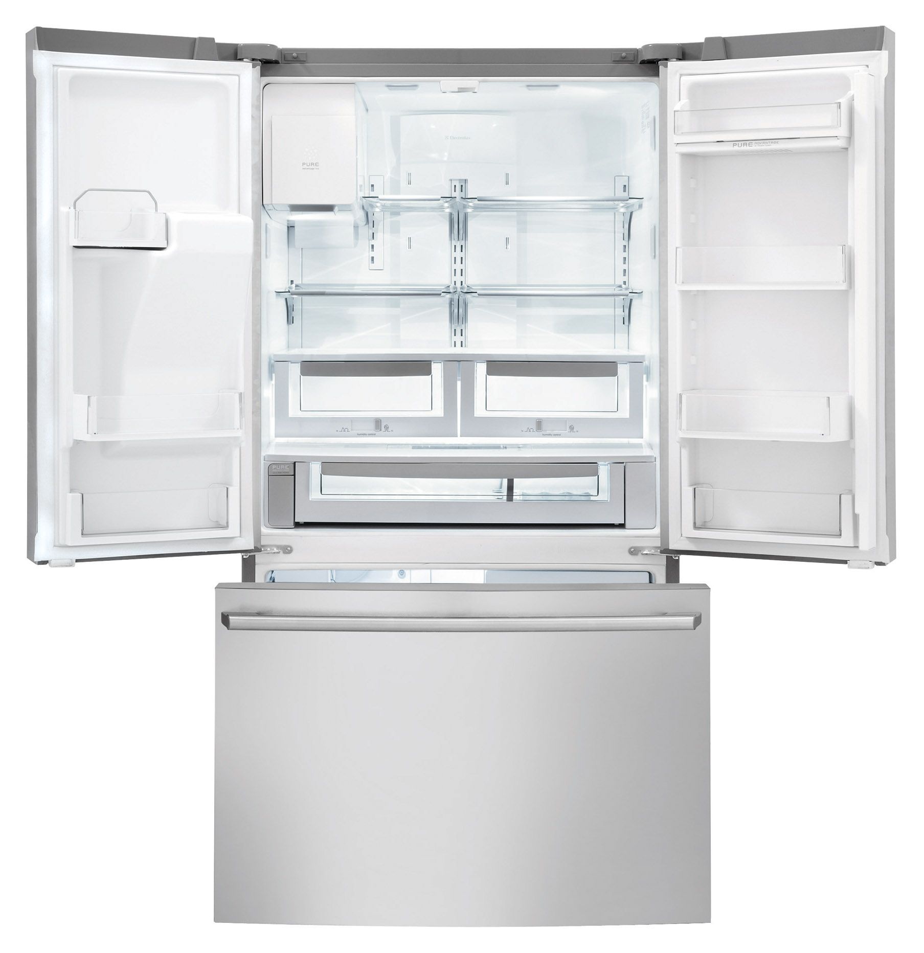 Electrolux 28 cu.ft. French Door Refrigerator with Wave-Touch™ Controls - Stainless Steel