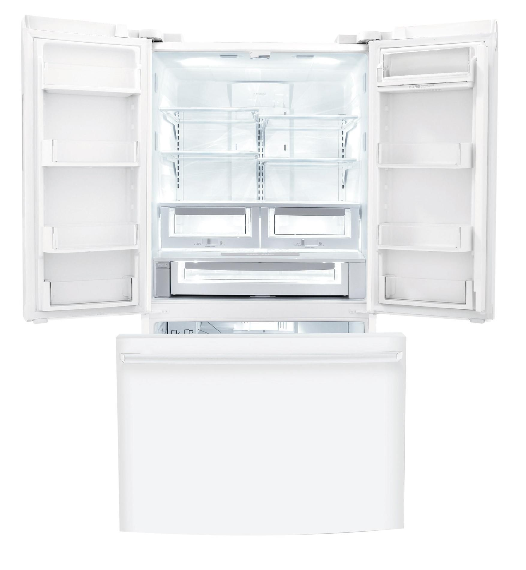 Electrolux 23 cu. ft. Counter-depth French Door Refrigerator  - White