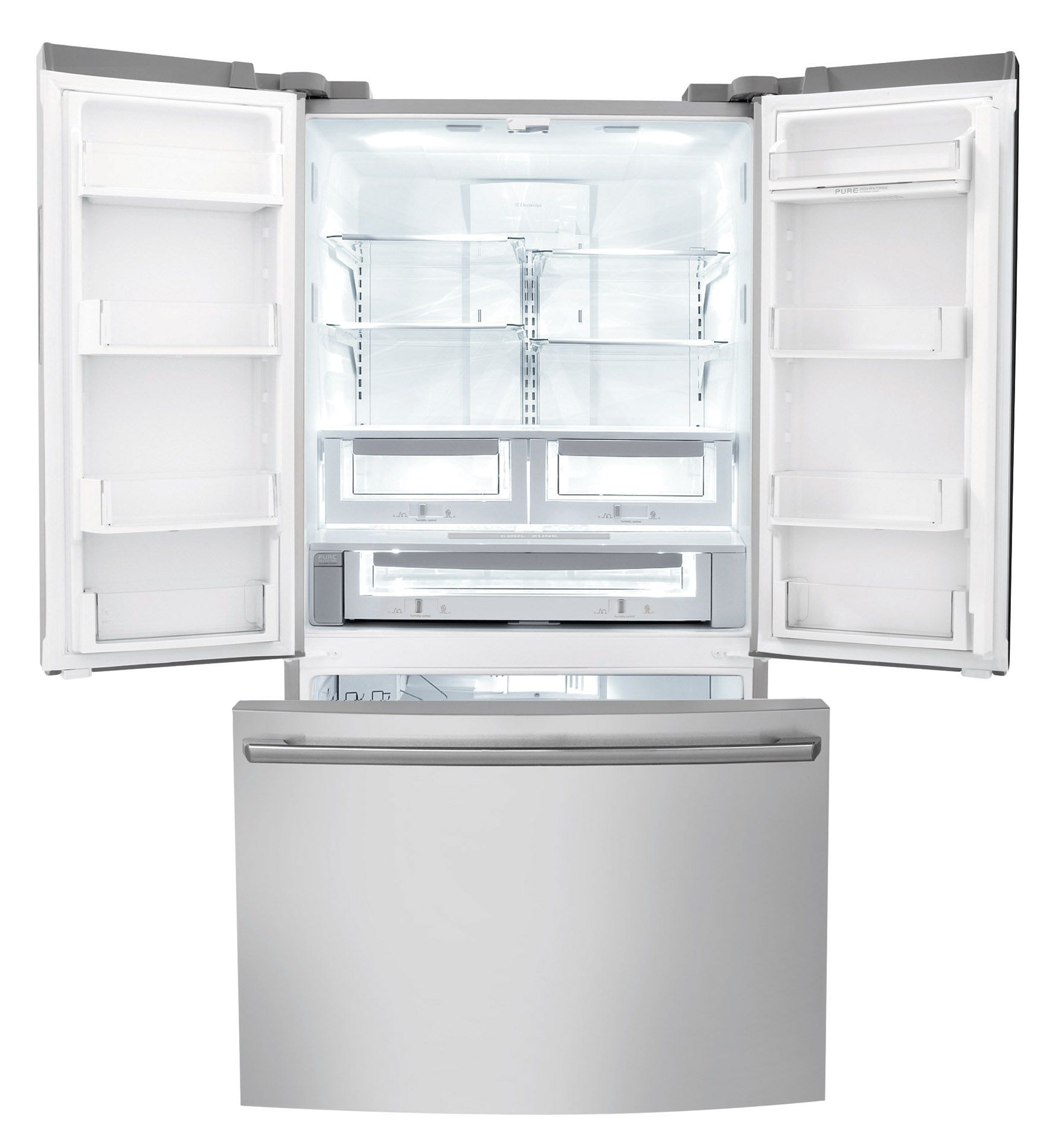 Electrolux EI23BC60KS 22.6 cu. ft. Counter-depth French Door Refrigerator with IQ-Touch™ Controls - Stainless Steel