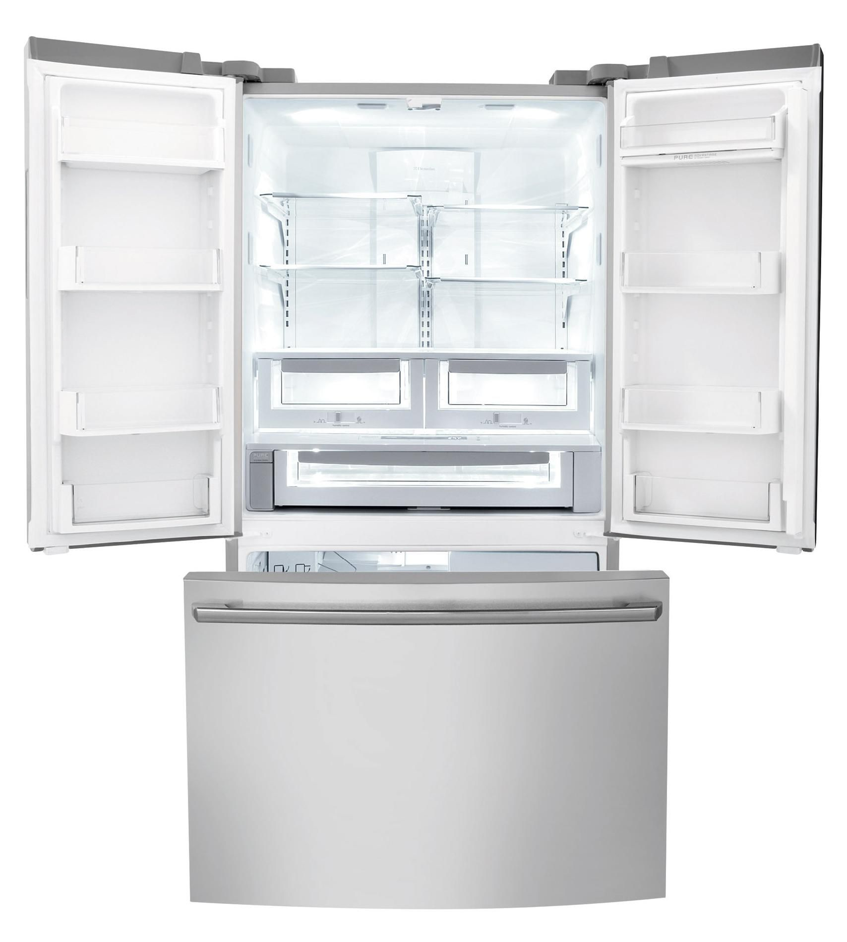 Electrolux EI23BC80KS 22.5 cu. ft. Counter-depth French Door Refrigerator w/ IQ-Touch™ Controls - Stainless Steel