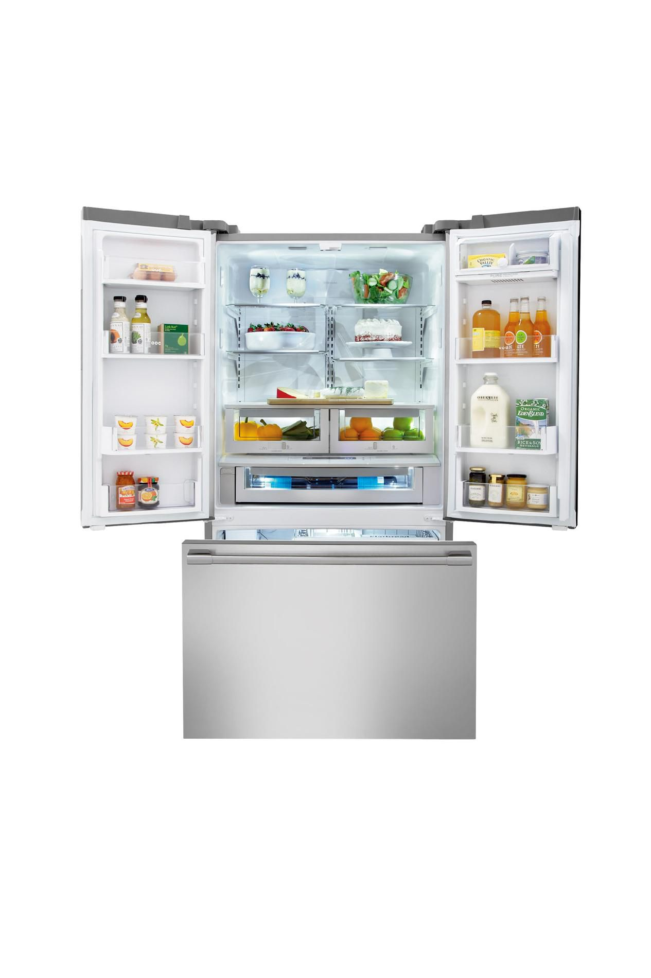 Electrolux ICON 23 cu. ft. Counter-depth French Door Refrigerator  - Stainless Steel