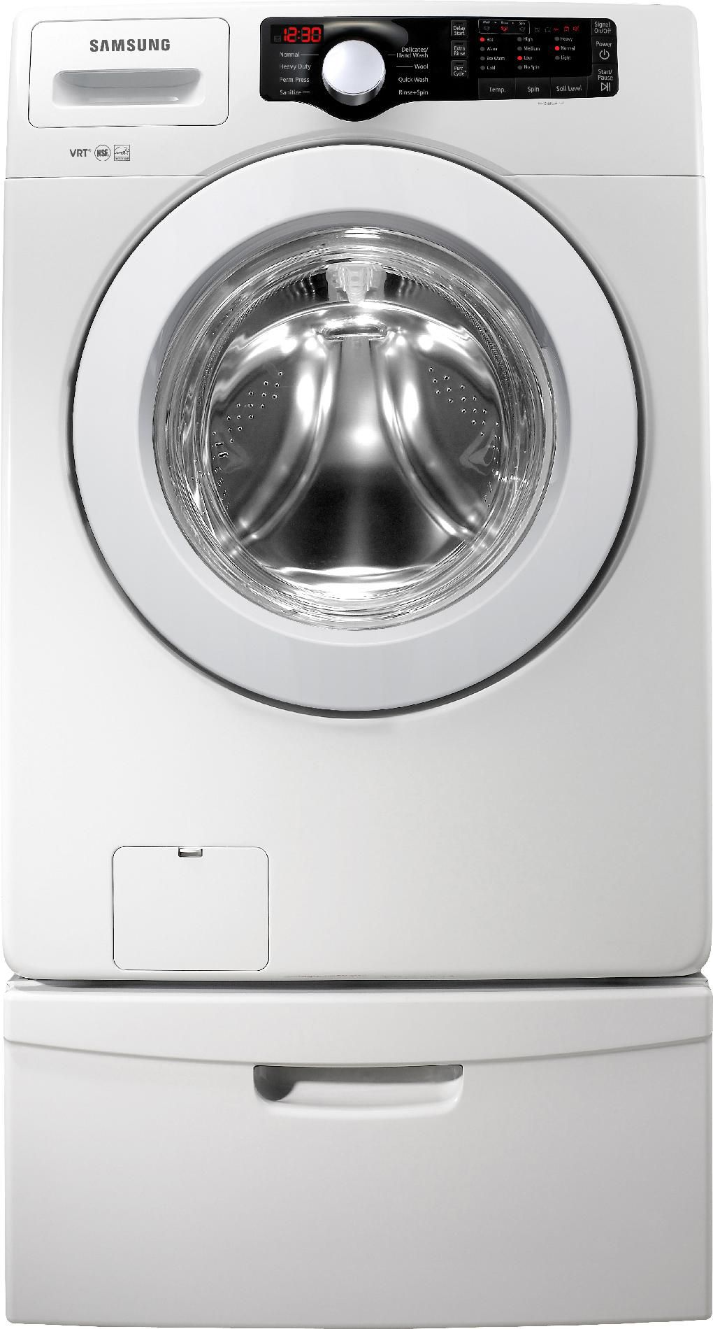 Samsung 3.6 cu. ft. Front-Load Washer - White