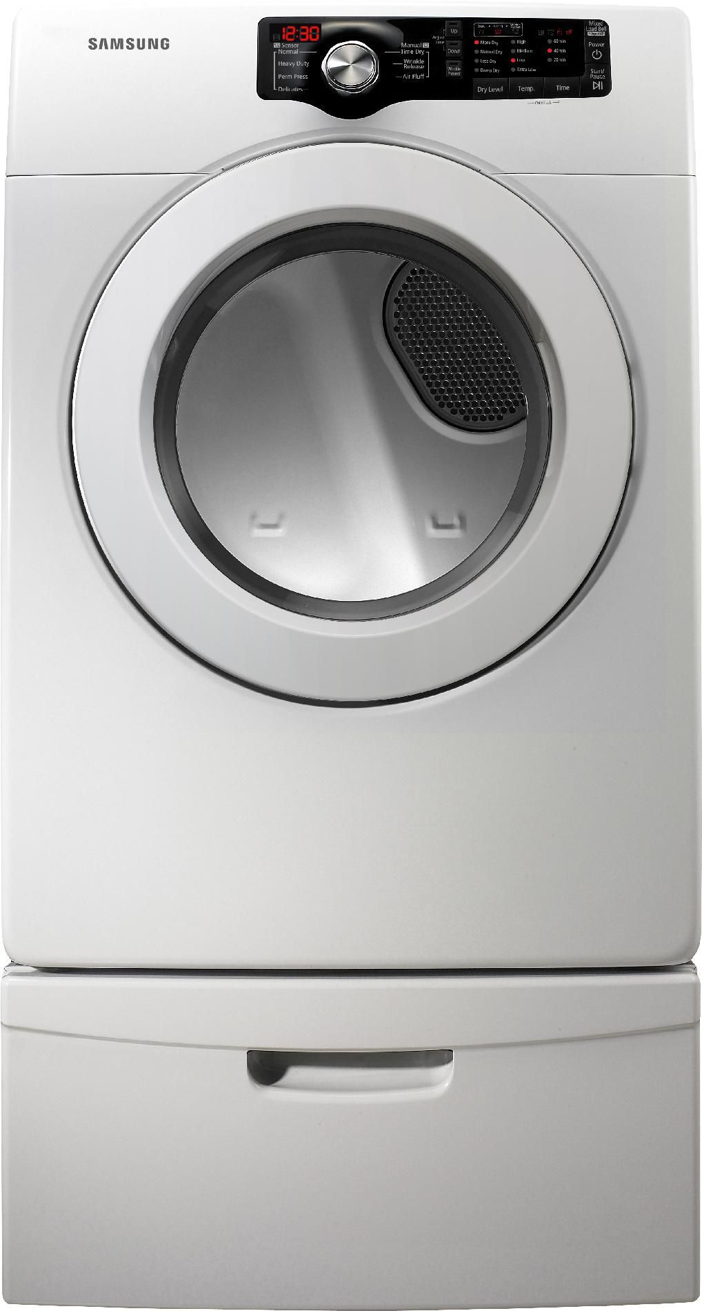 Samsung 7.3 cu. ft. Gas Dryer - White