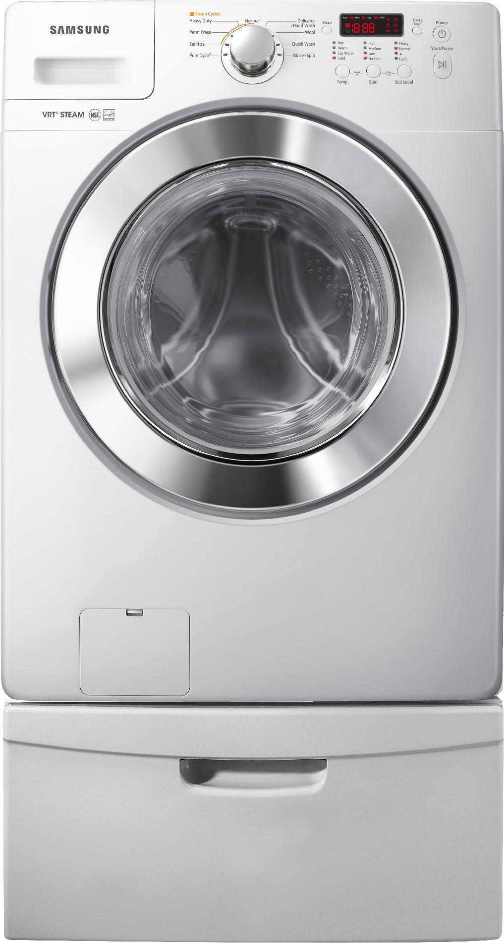 Samsung 7.3 cu. ft. Steam Gas Dryer - White