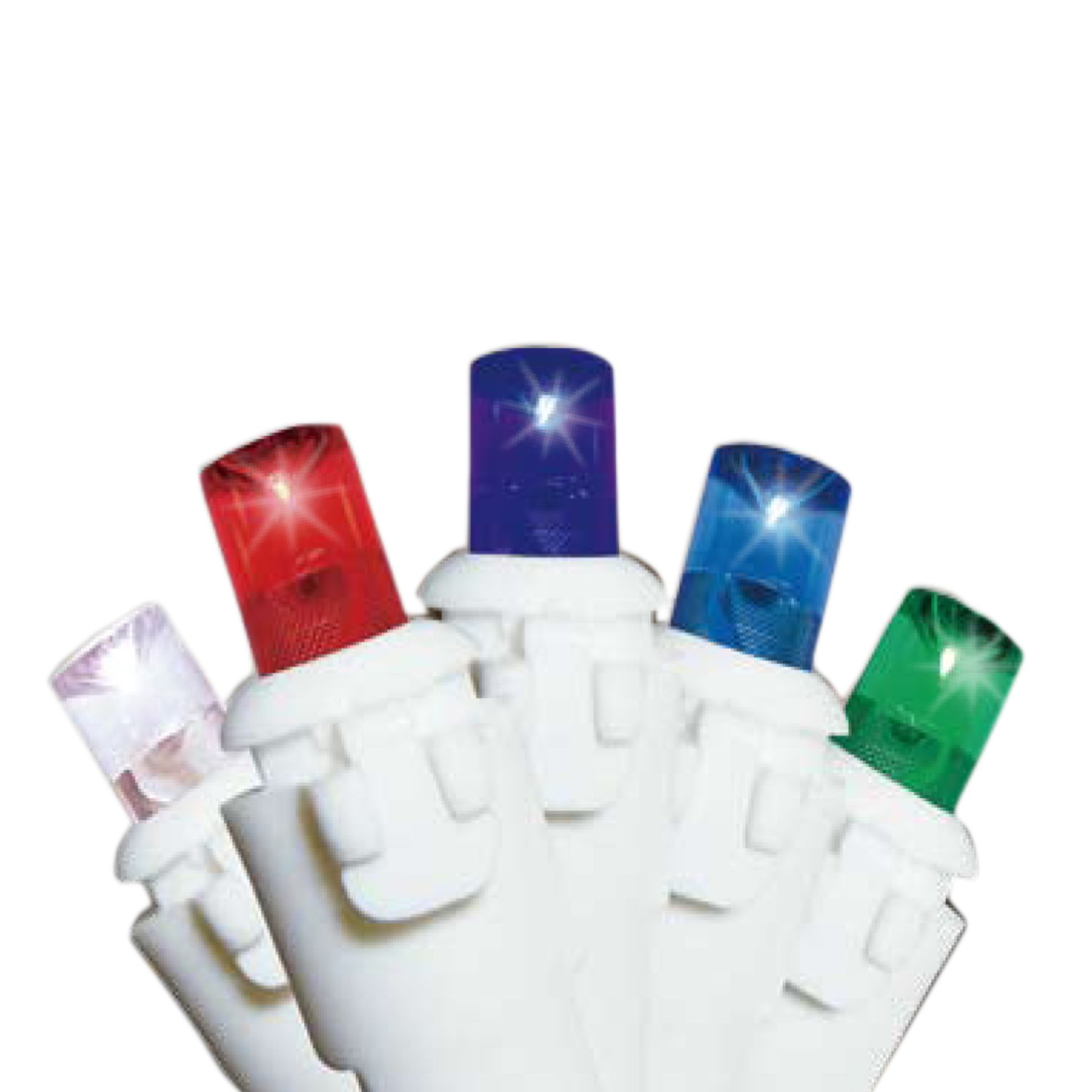 Holiday Showtime™ 8-Function 150ct Micro LED Icicle Christmas Light Set - Multi-Colored