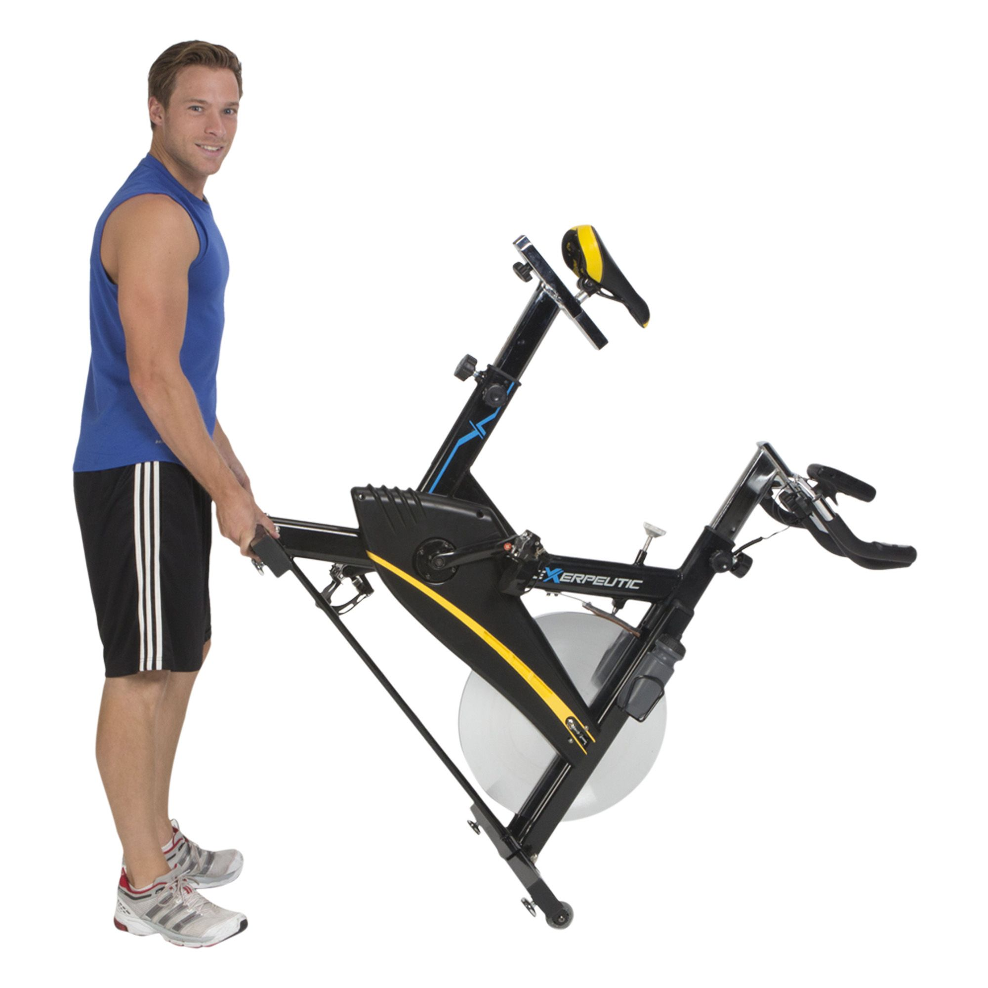 Exerpeutic LX9 Super High Capacity Training Cycle with Computer, Elbow Supports and Heart Pulse Sensors