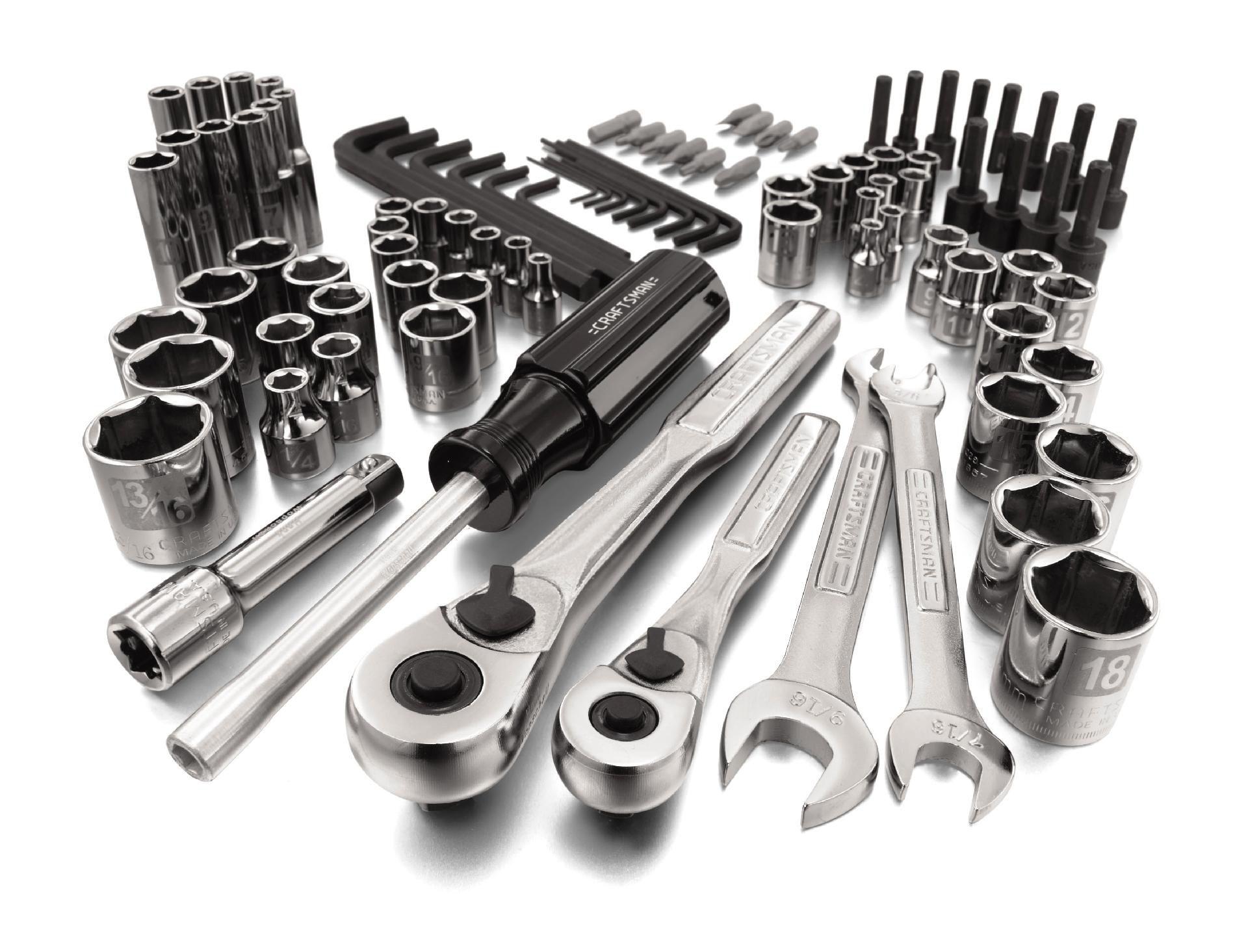 Craftsman 94 pc. Easy-To-Read Mechanics Tool Set