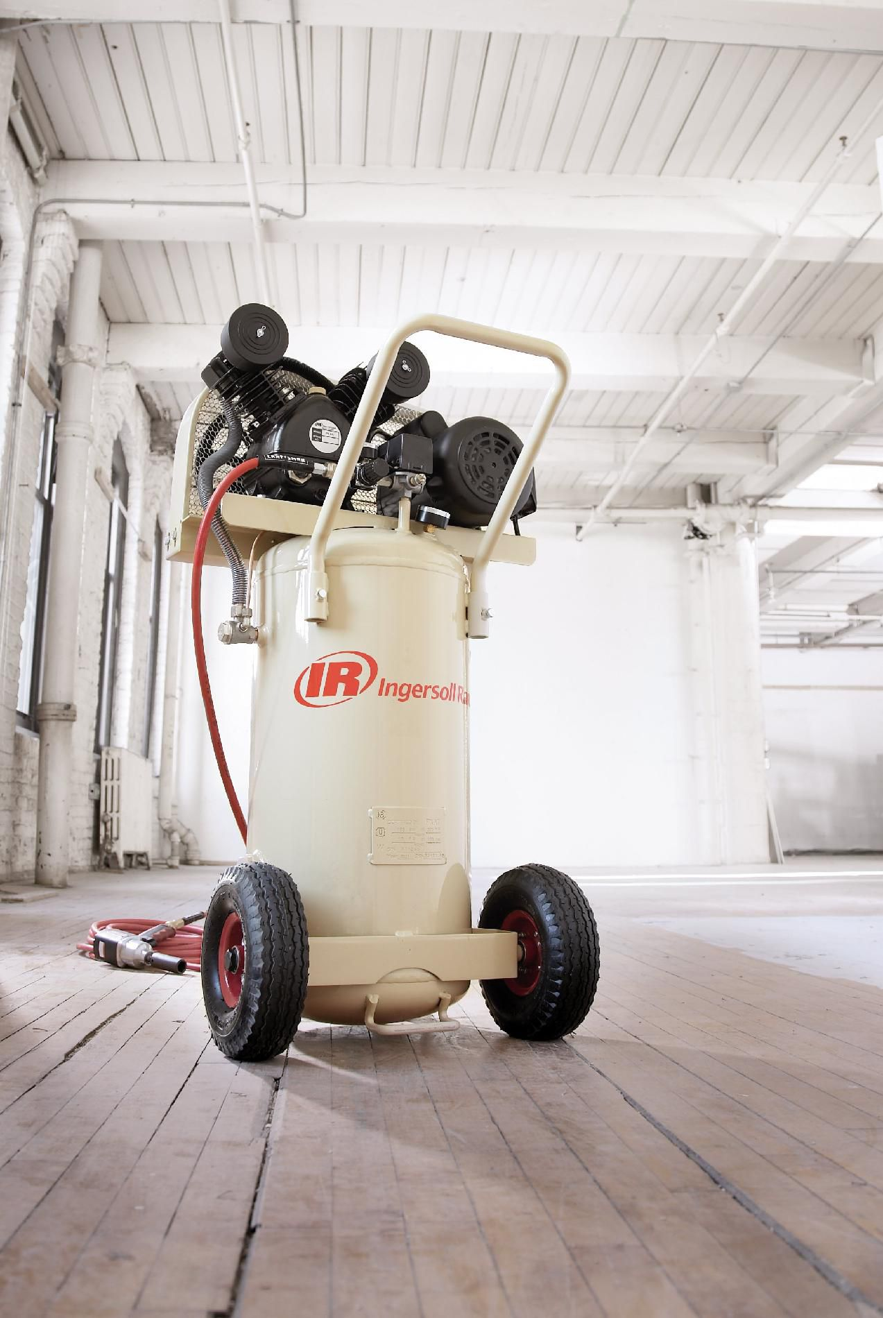 Ingersoll-Rand 20 Gallon Air Compressor, Vertical Tank, 2 HP #P1.5IU-A9
