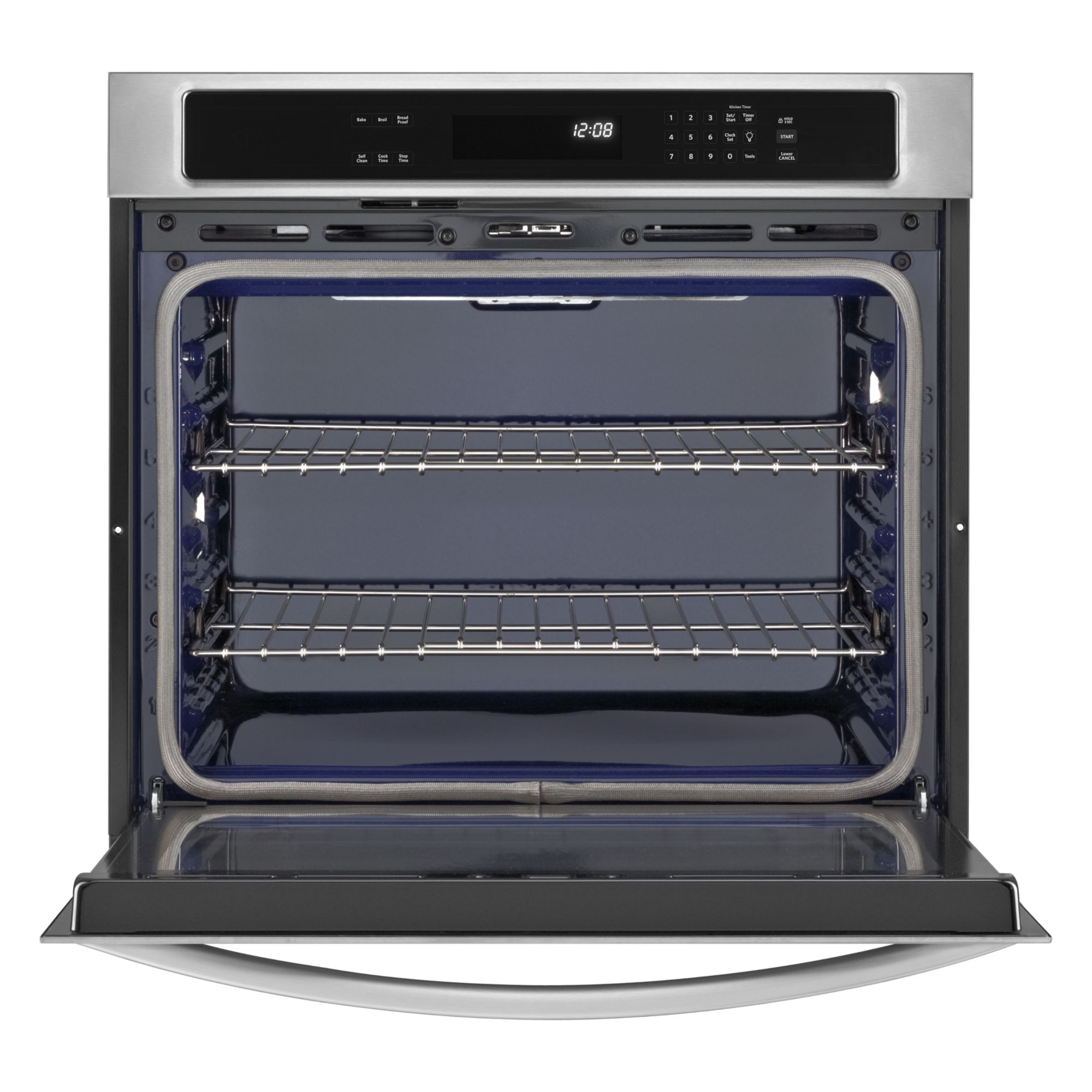 KitchenAid 27-inch Built-in Single Wall Oven with Even-Heat™ Technology - Stainless Steel