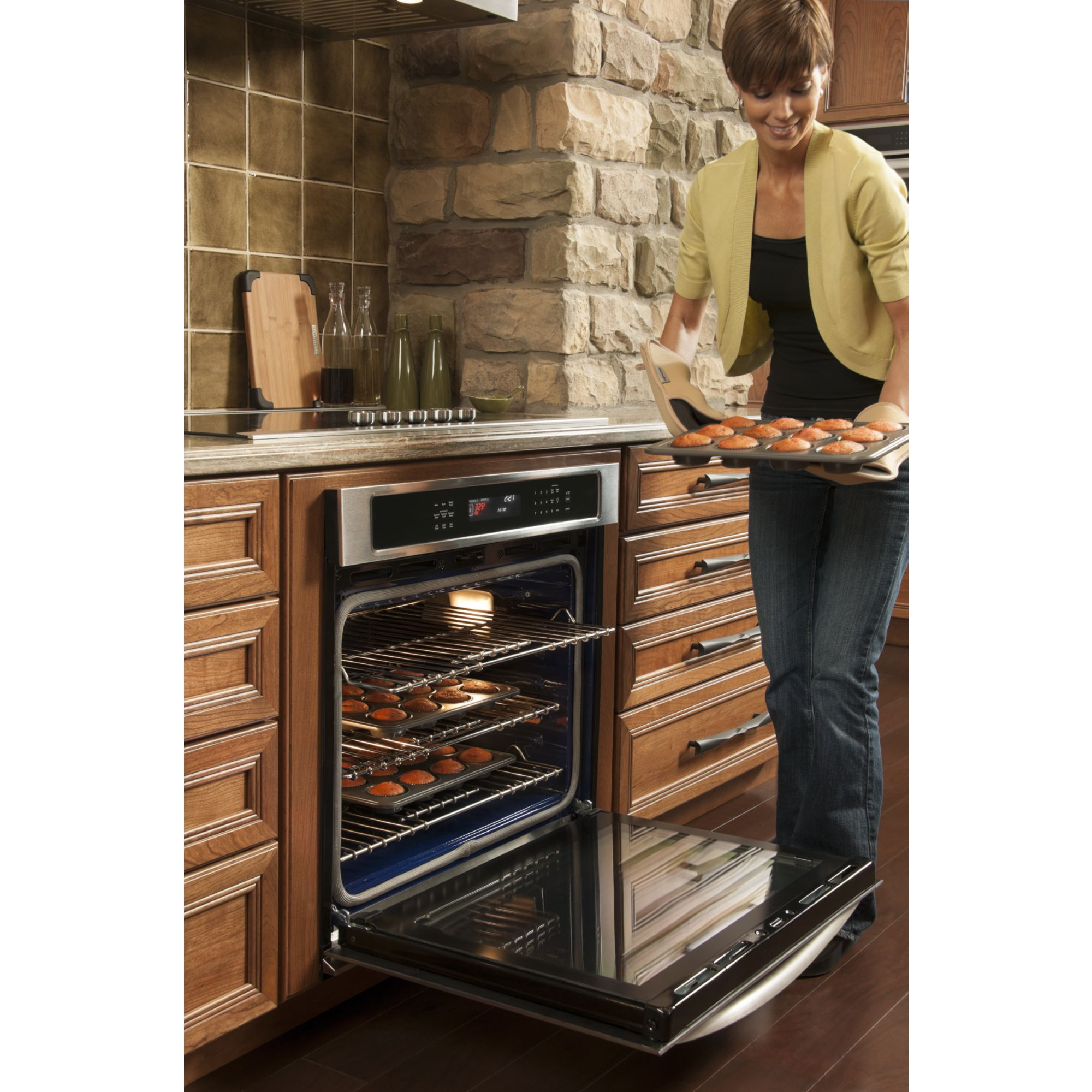 "KitchenAid 30"" Built-in Single Wall Oven with Even-Heat™ Technology - Stainless Steel"