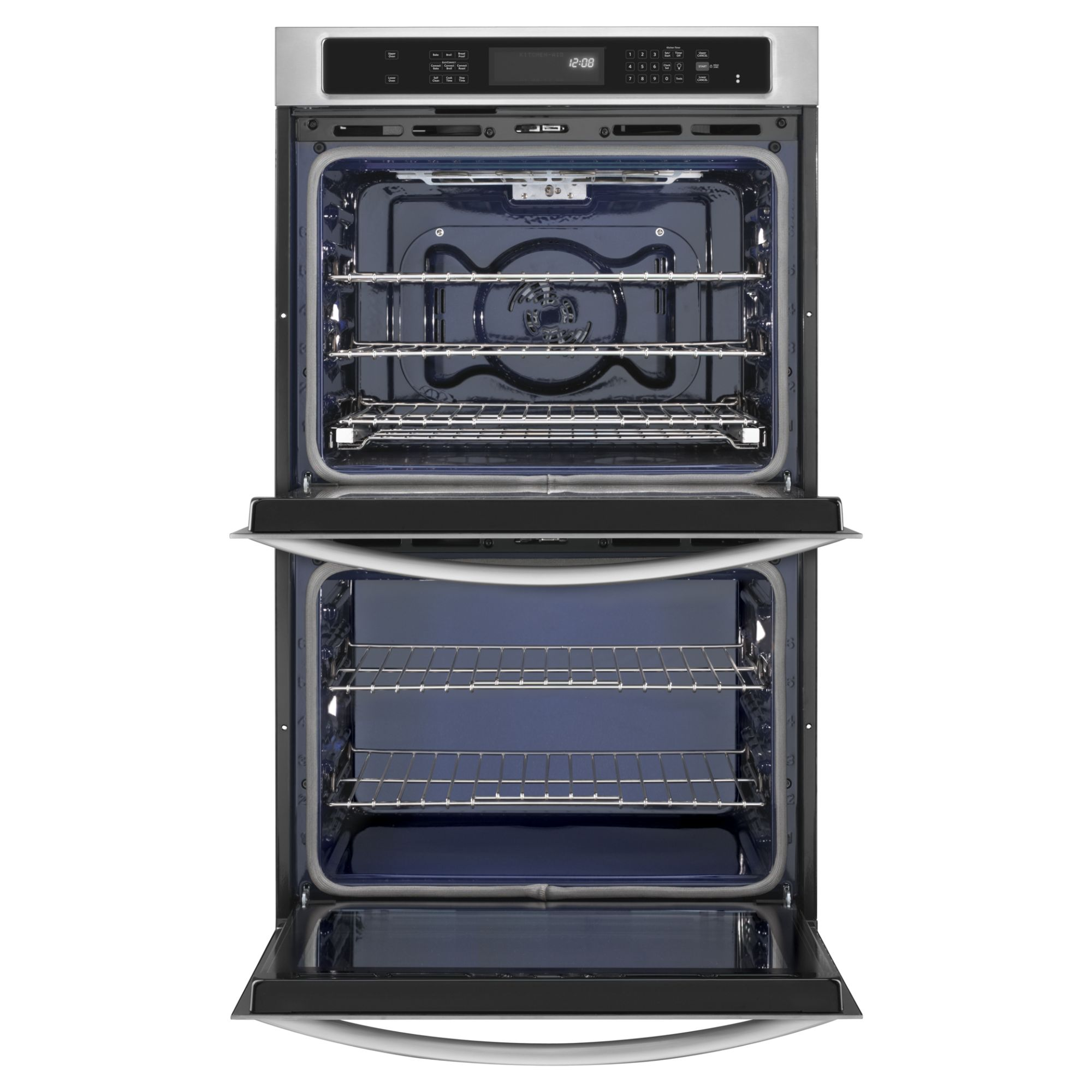 "KitchenAid 30"" Built-in Double Oven with Even-Heat™ Technology - Stainless Steel"