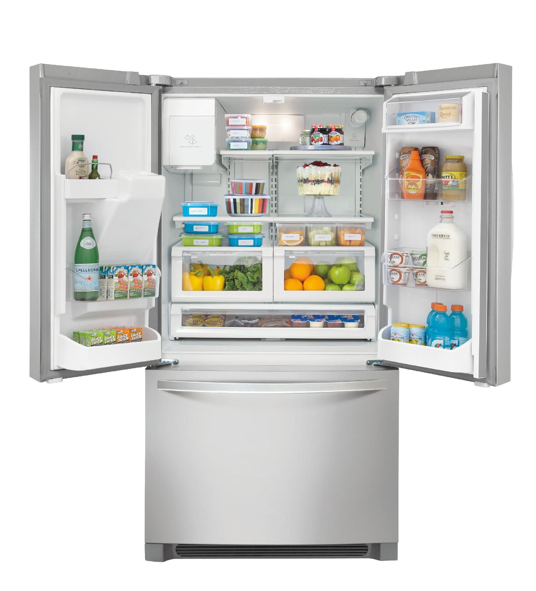 Kenmore 26.7 cu. ft. French Door Bottom-Freezer Refrigerator - Stainless Steel
