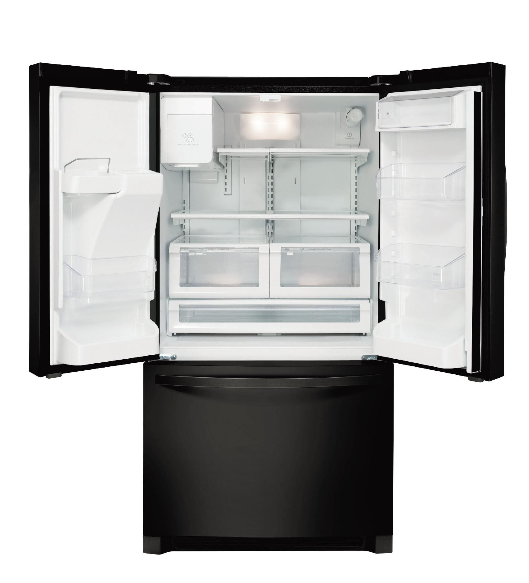 Kenmore 26.7 cu. ft. French DoorBottom-Freezer Refrigerator - Black