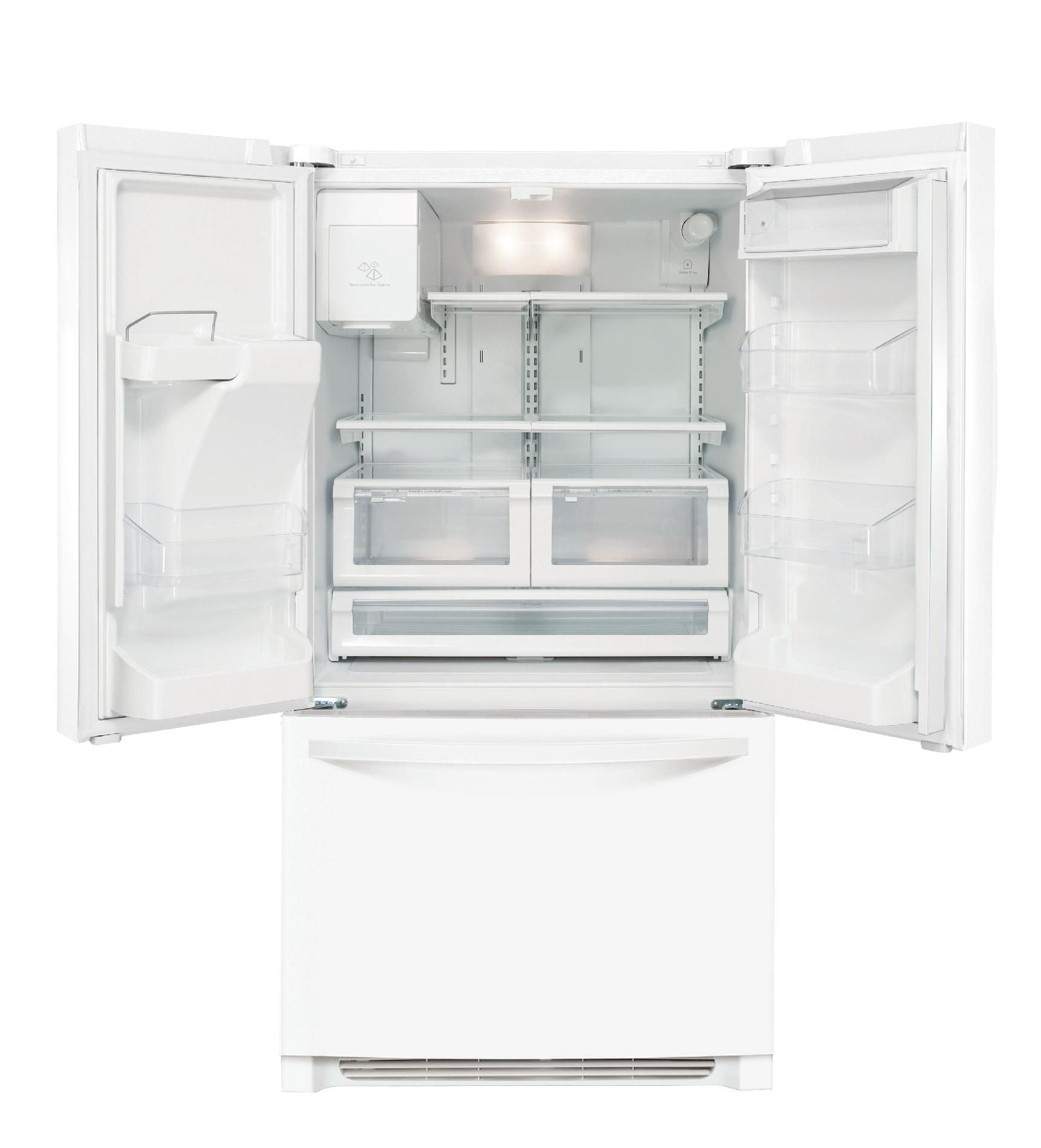 Kenmore 26.7 cu. ft. French DoorBottom-Freezer Refrigerator - White