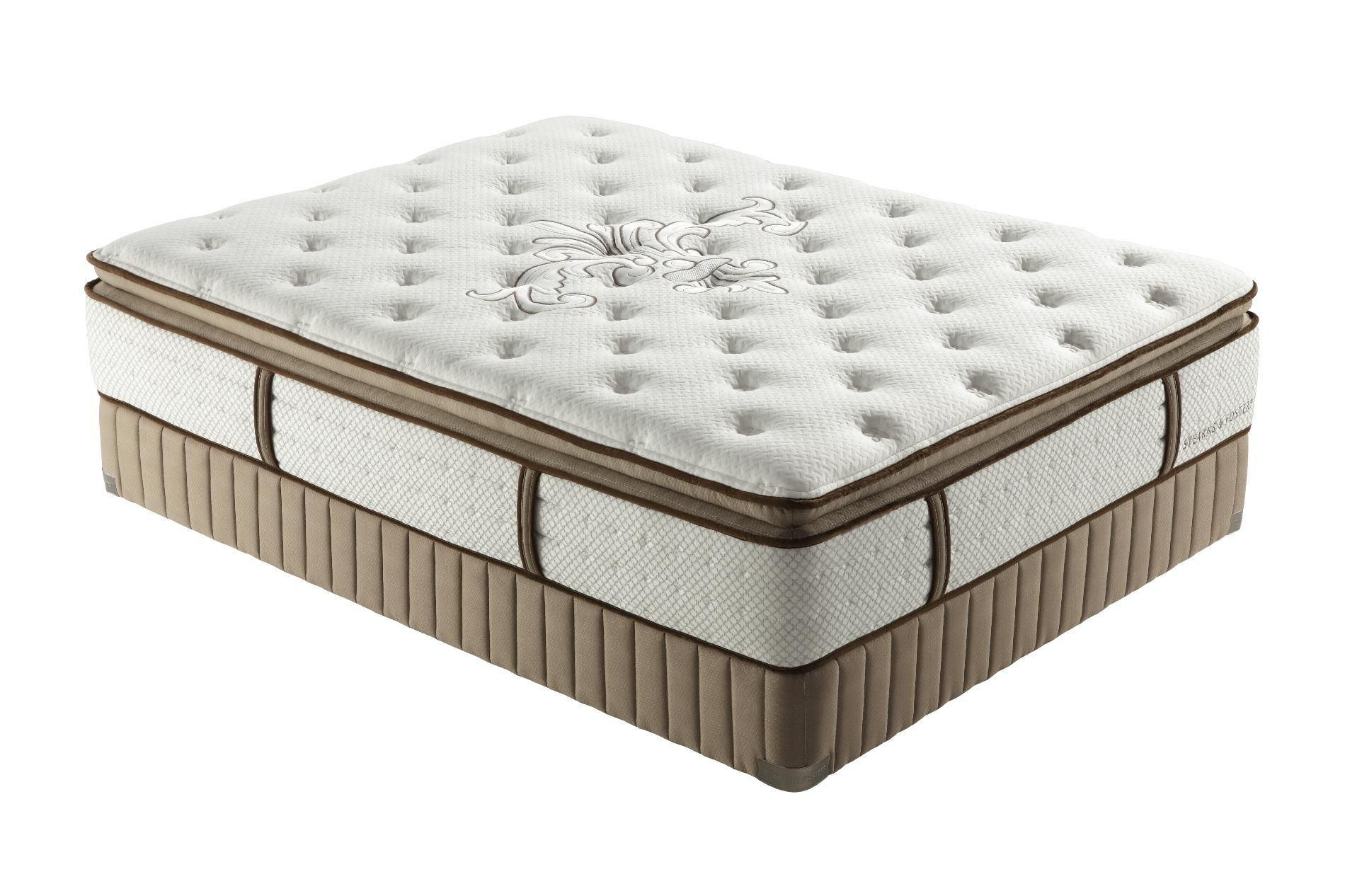 Stearns & Foster Lux Estate Alejandra Plush Euro Pillowtop King Mattress Only