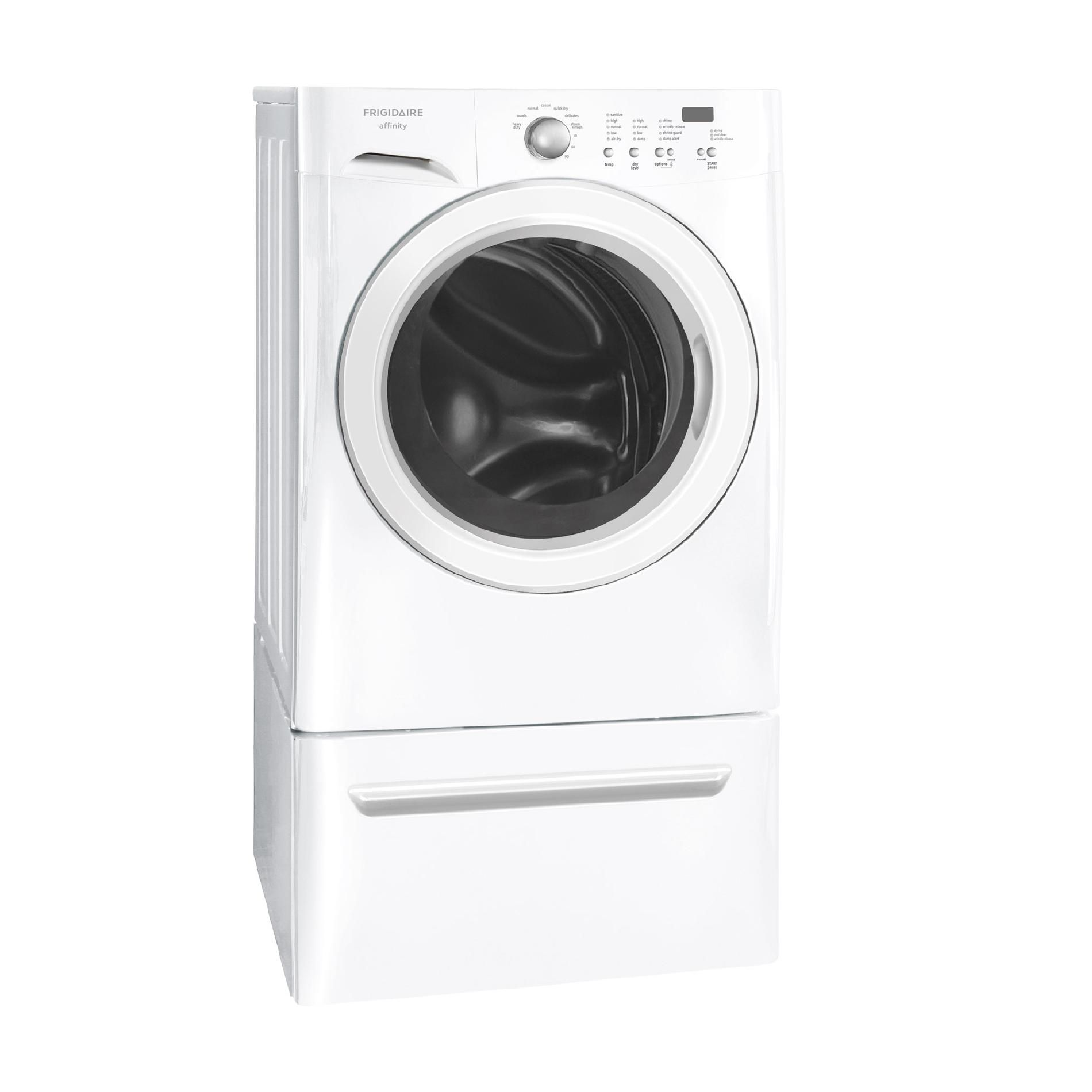 Frigidaire Affinity 7.0 cu. ft. Ready Steam™ Gas Dryer - White