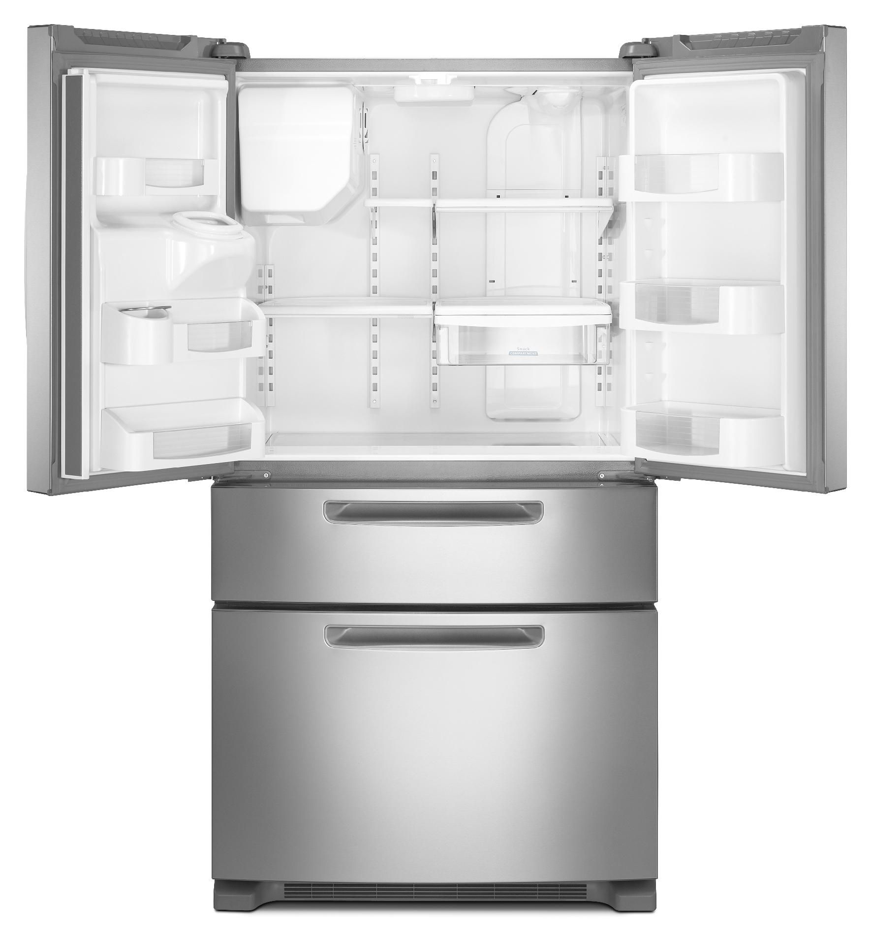 Maytag 25 cu. ft. 4-Door Refrigerator w/ Easy-Access Drawer - Stainless Steel