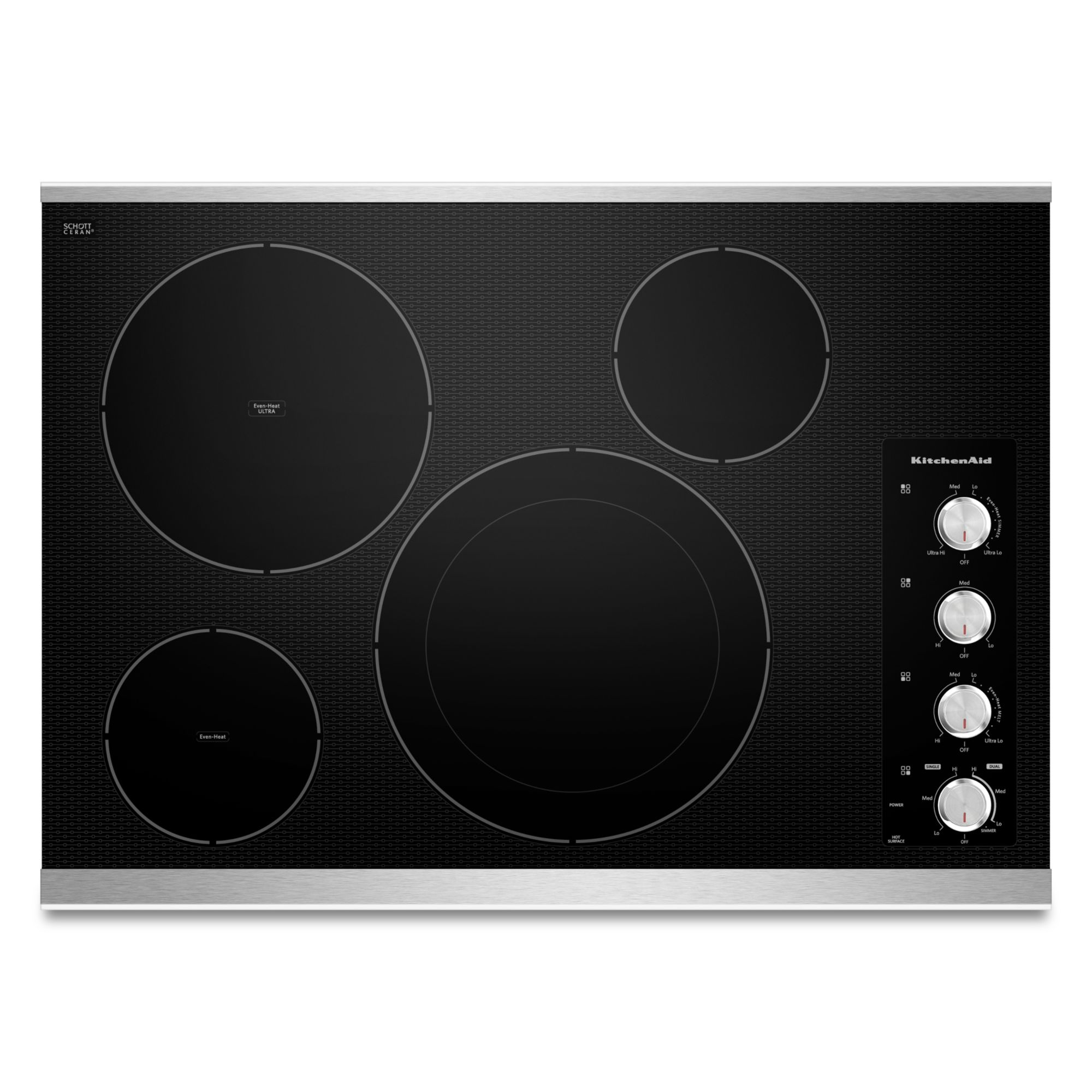 KECC604BSS-30-4-Element-Electric-Cooktop-with-Even-Heat-Technology-Stainless-Steel