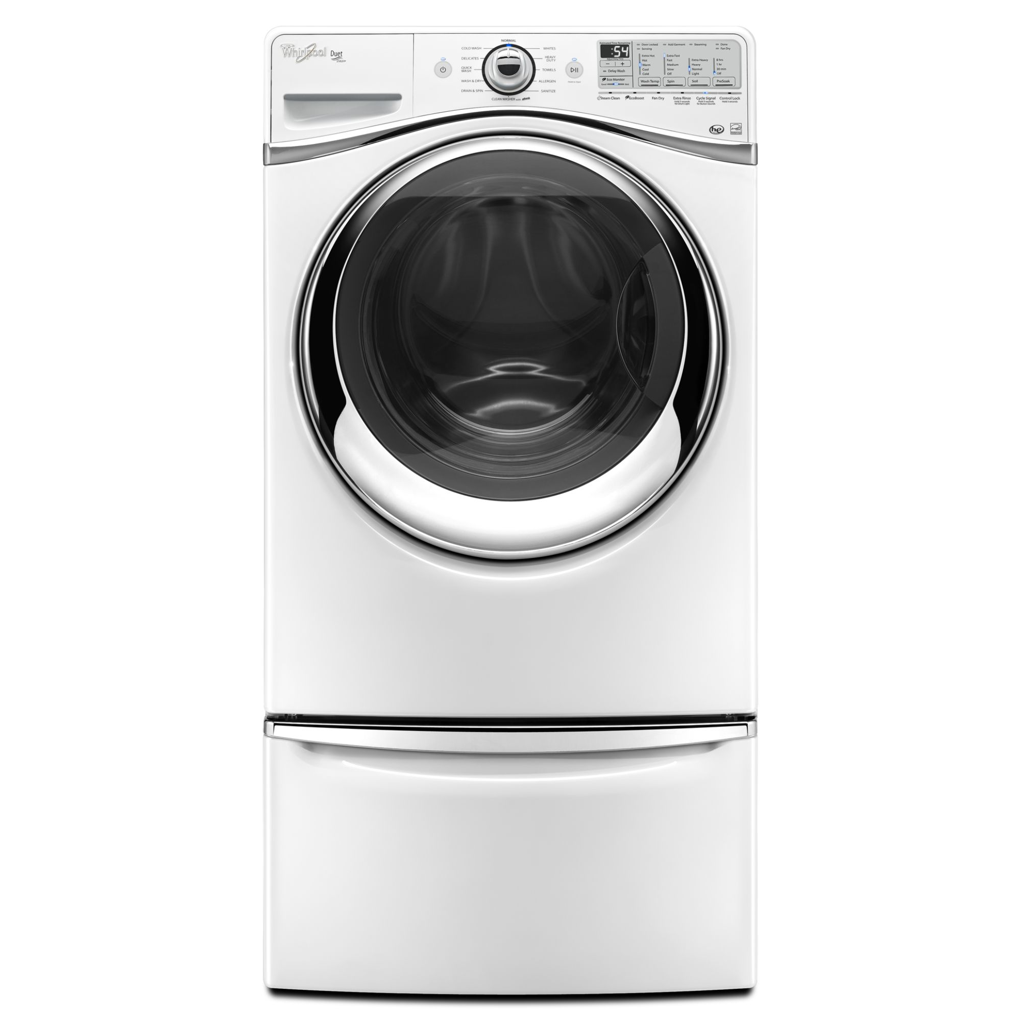Whirlpool 4.3 cu. ft. Front-Load Washer w/ Precision Dispense - White