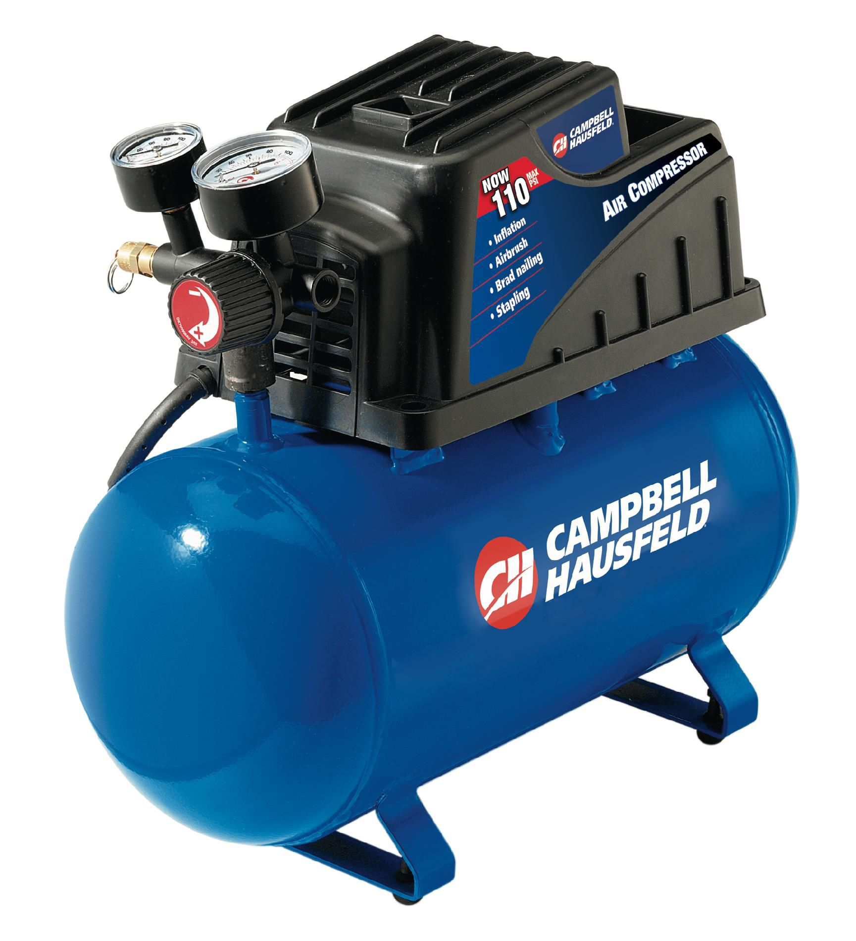 Campbell Hausfeld 2 Gallon Air Compressor with Accessories
