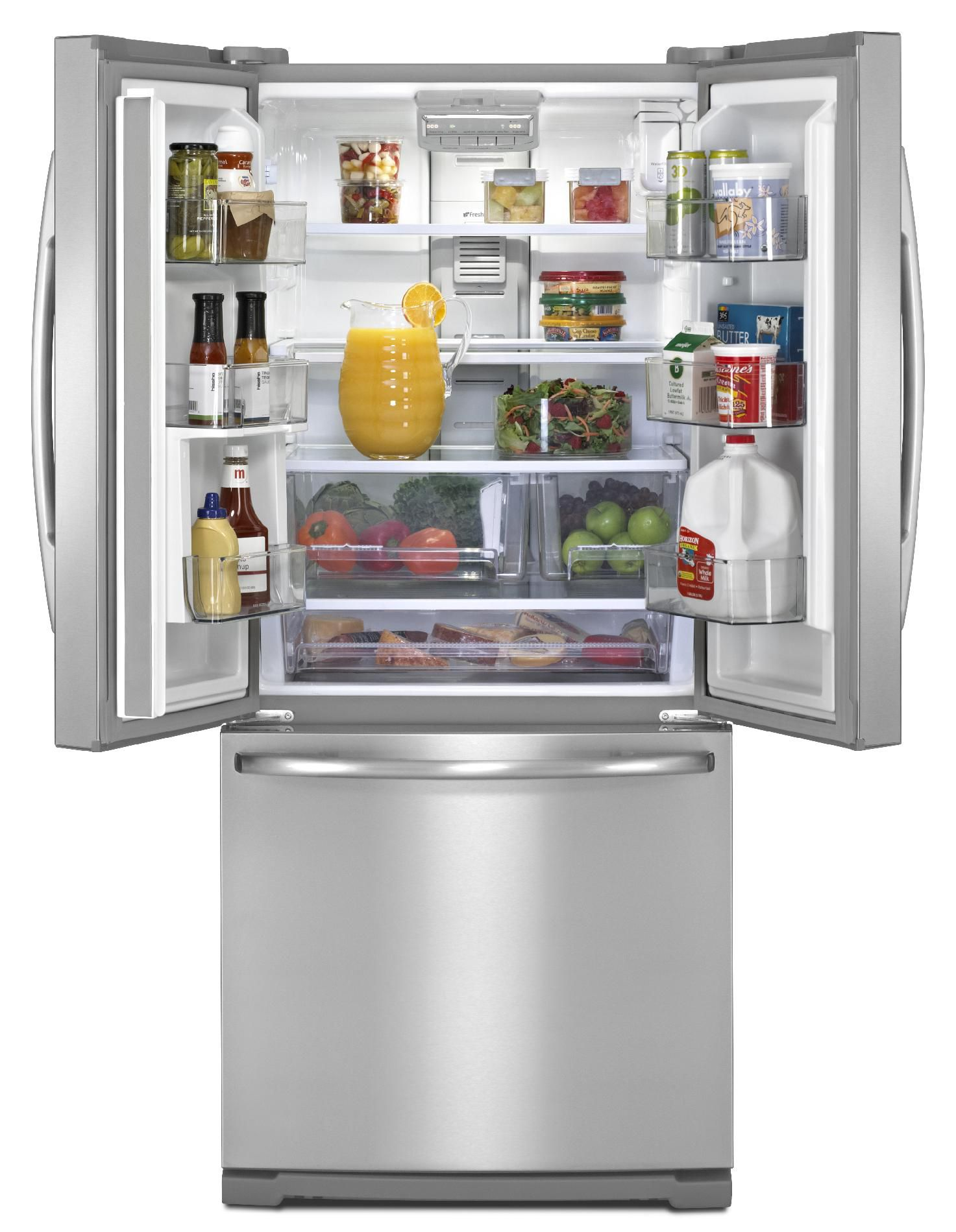 Maytag 20 cu. ft. French-Door Refrigerator w/ Strongbox™ Door Bins - Stainless Steel