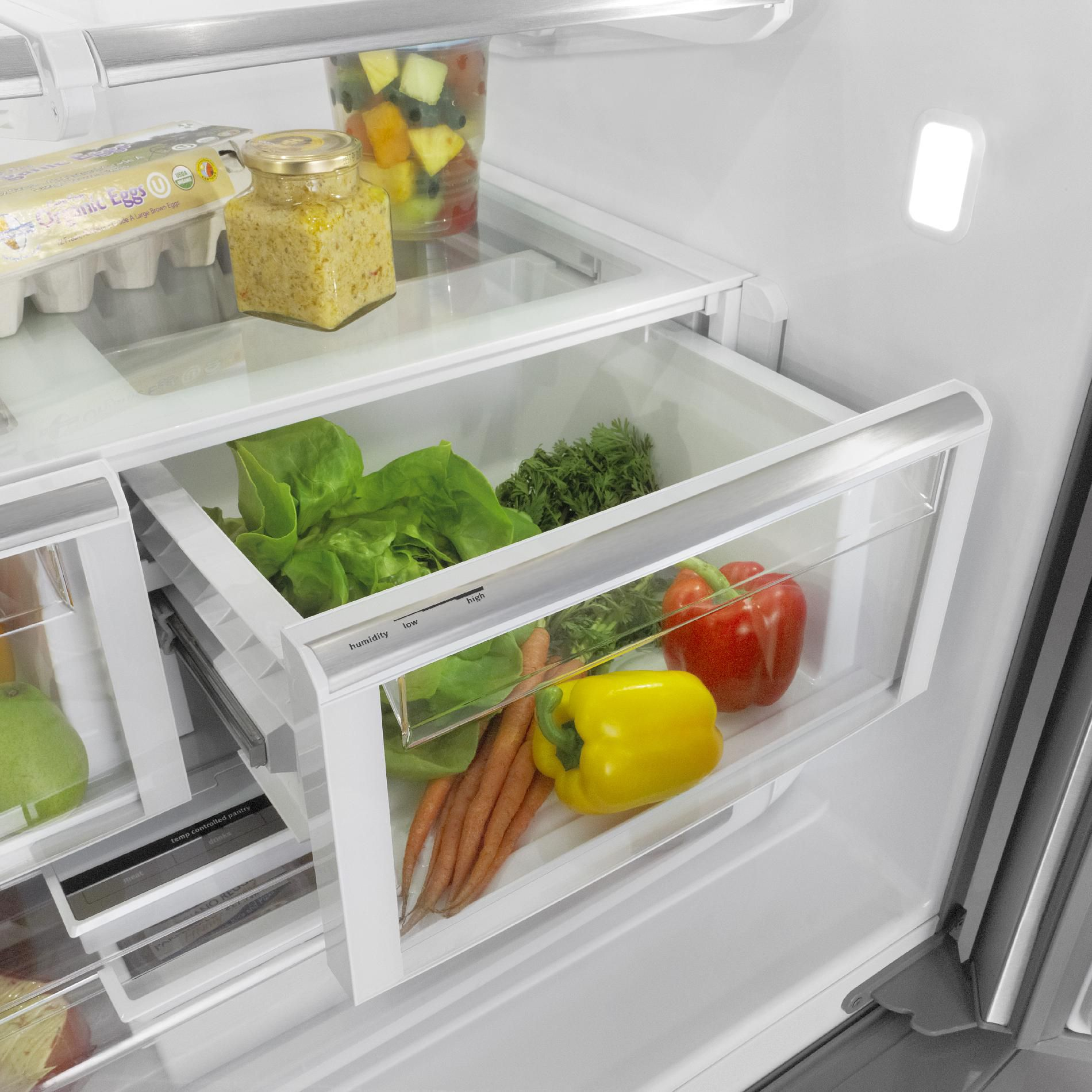 Maytag 29 cu. ft. French-Door Refrigerator w/ Cool Core™ Temperature Management - White