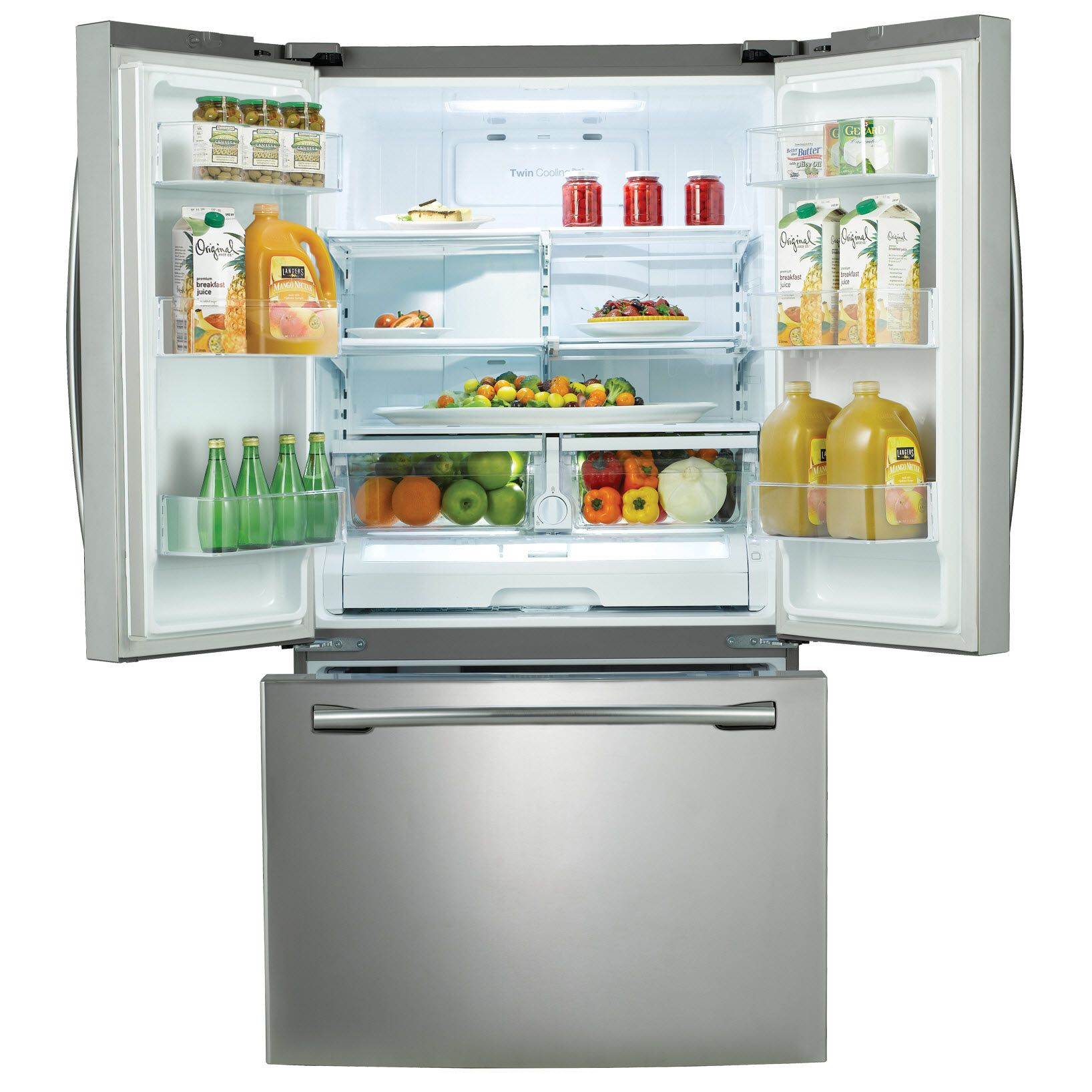 Samsung 26 cu.ft. French Door Refrigerator w/ Internal Filtered Water Dispenser - Stainless Steel
