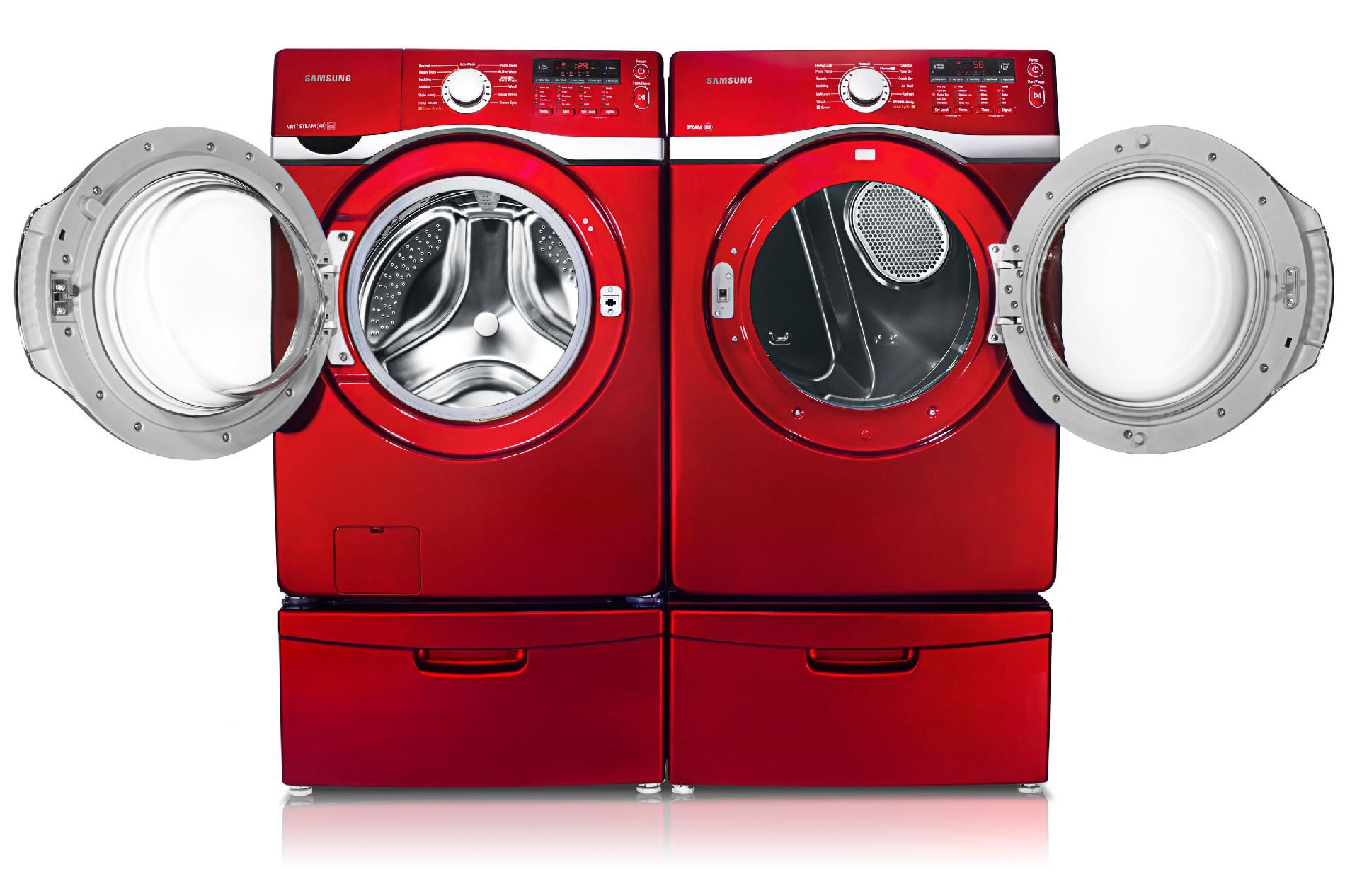 Samsung 7.4 cu. ft. Electric Dryer - Potomac Red