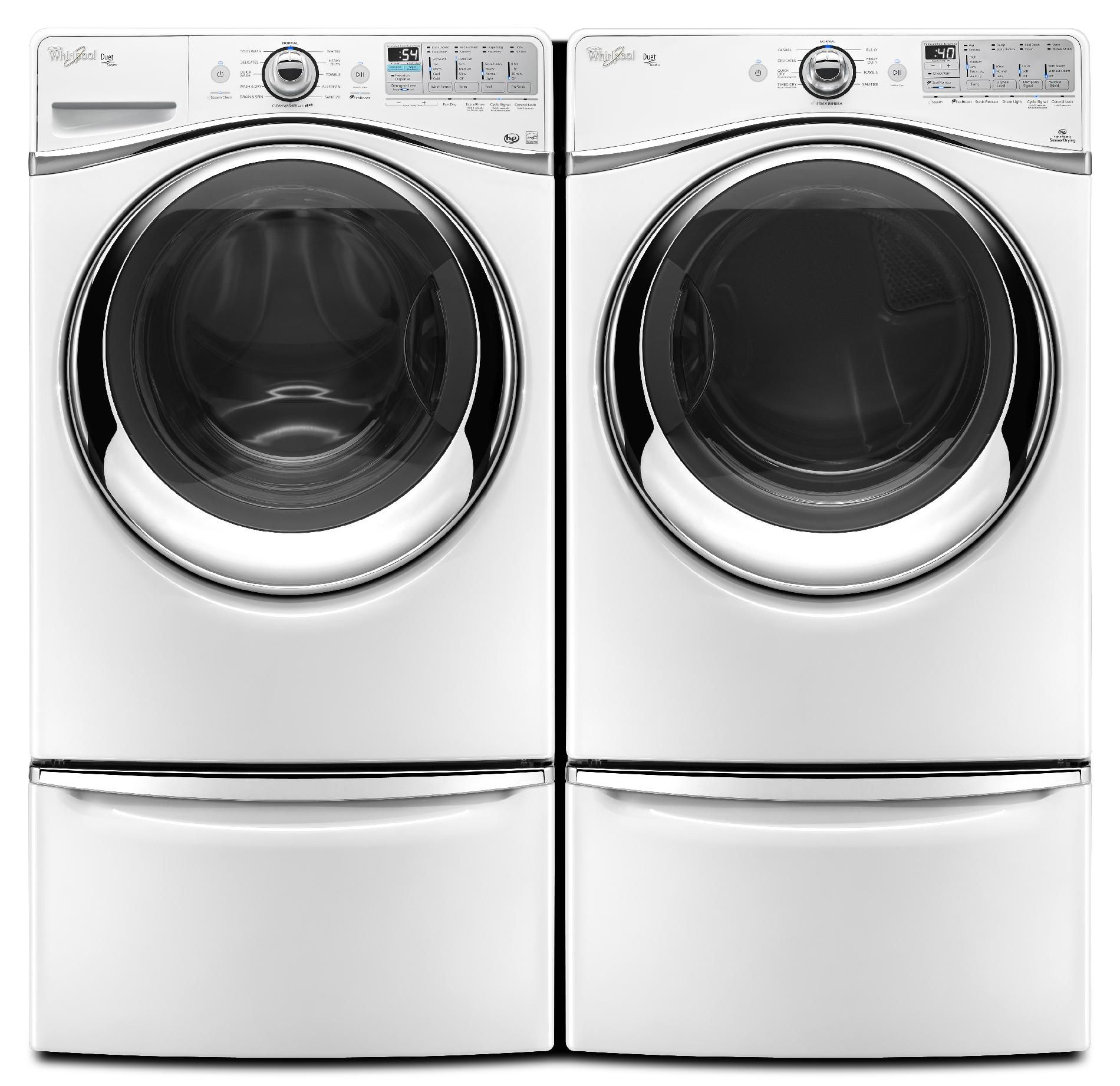Whirlpool 4.3 cu. ft. Front-Load Washer w/ Precision Dispense Ultra - White