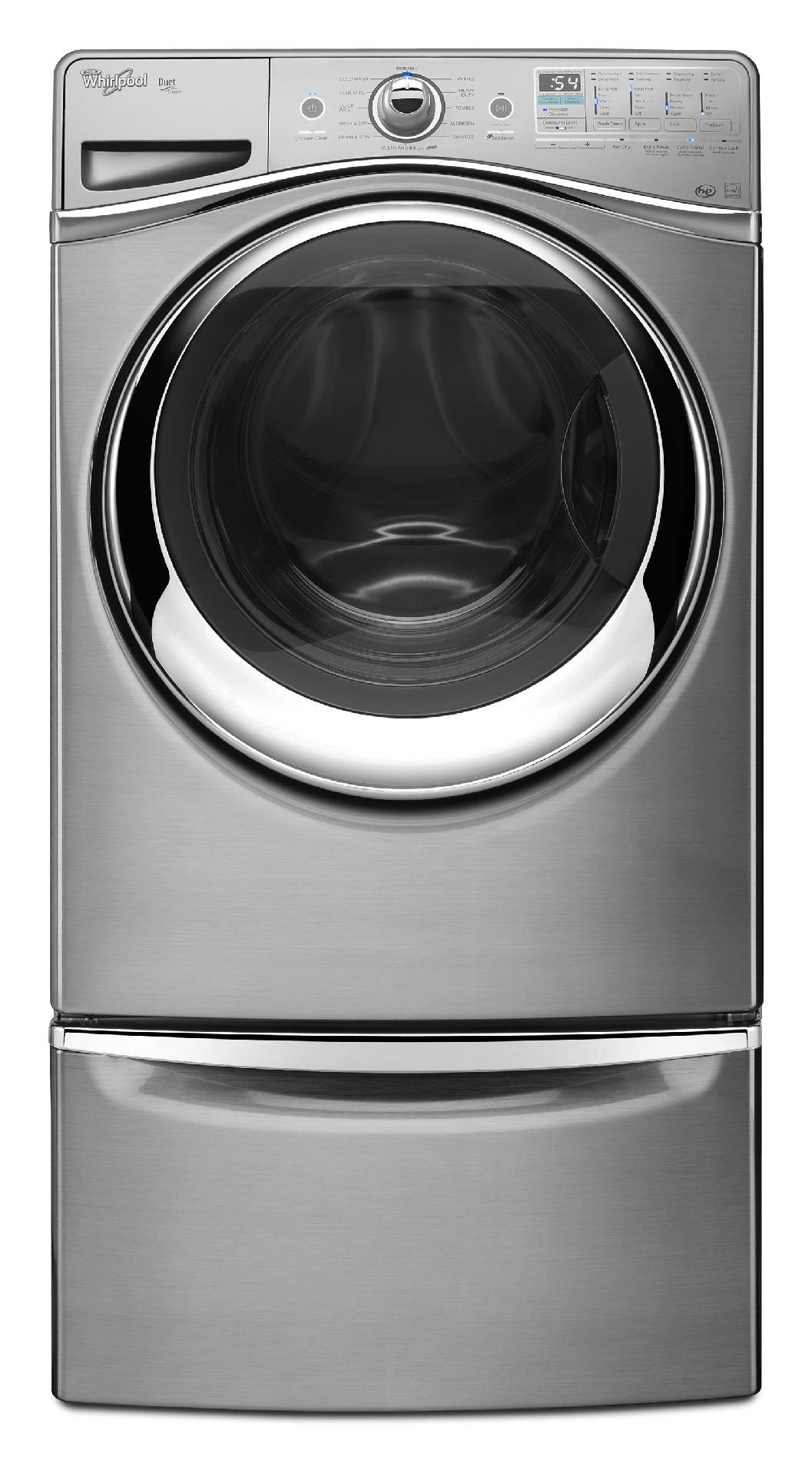 Whirlpool 4.3 cu. ft. Front-Load Washer w/ Precision Dispense Ultra - Diamond Steel