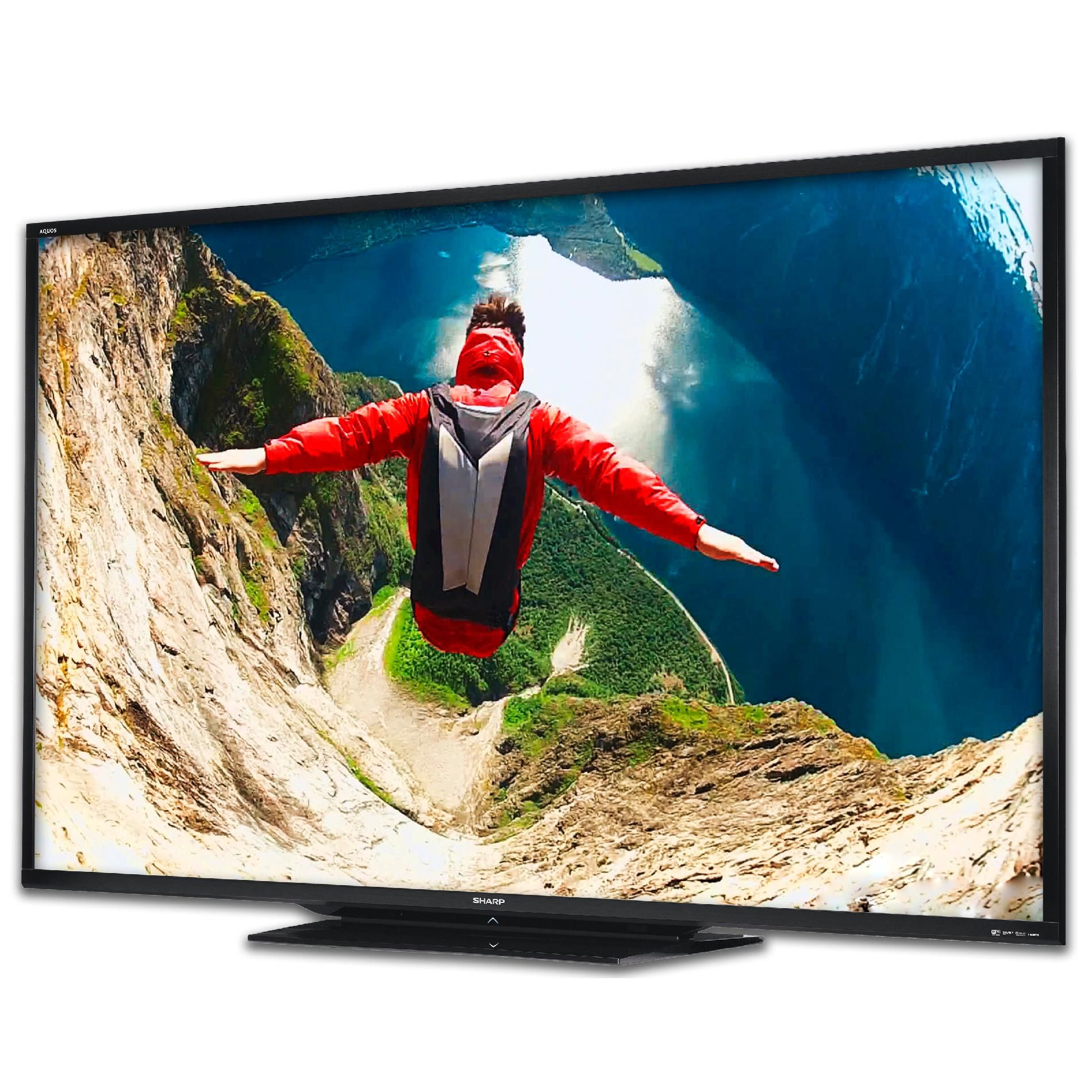 "Sharp 90"" Class Aquos 1080p 120Hz LED Smart HDTV - LC90LE745U"