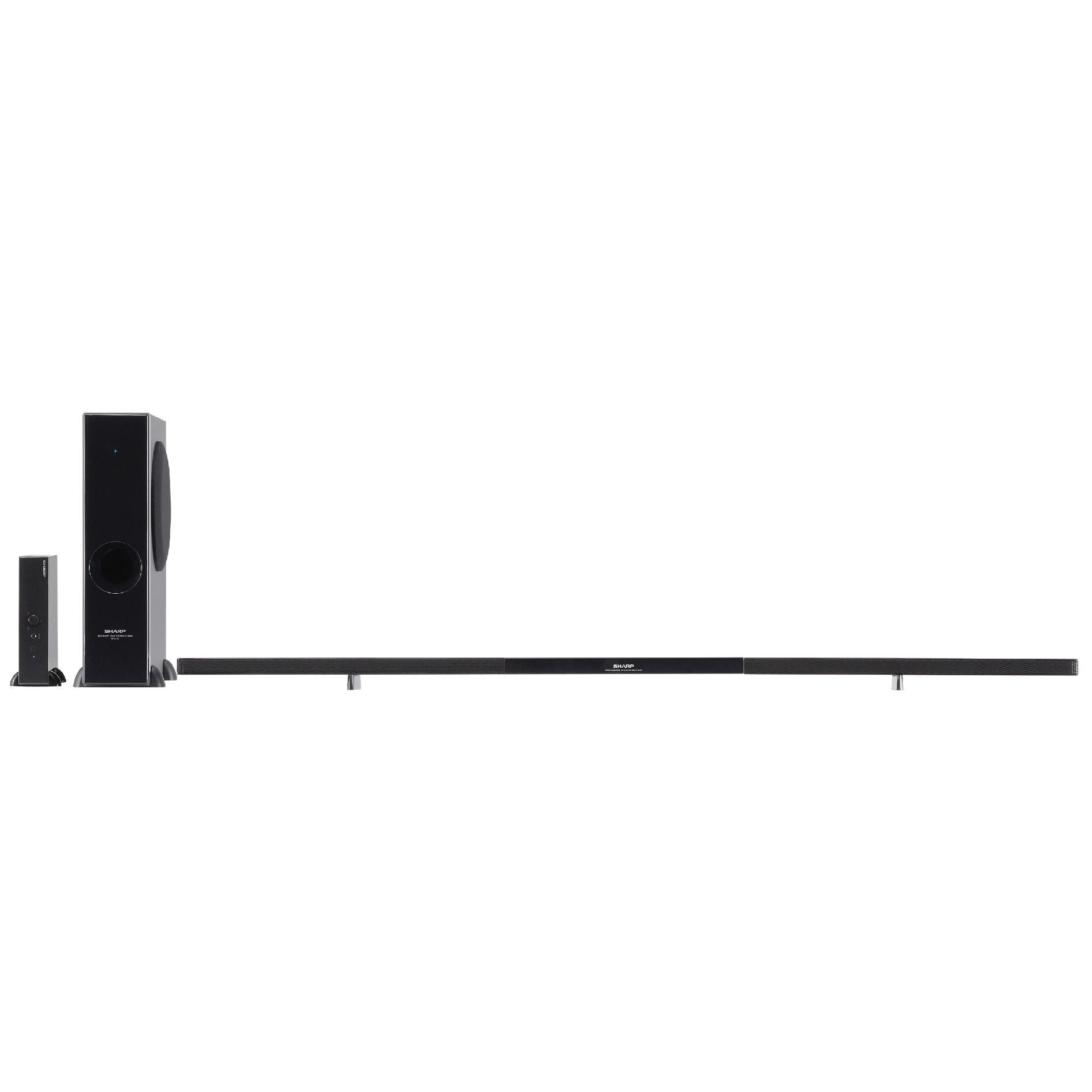 Sharp 2.1 Channel Sound Bar Home Theater System HT-SL72