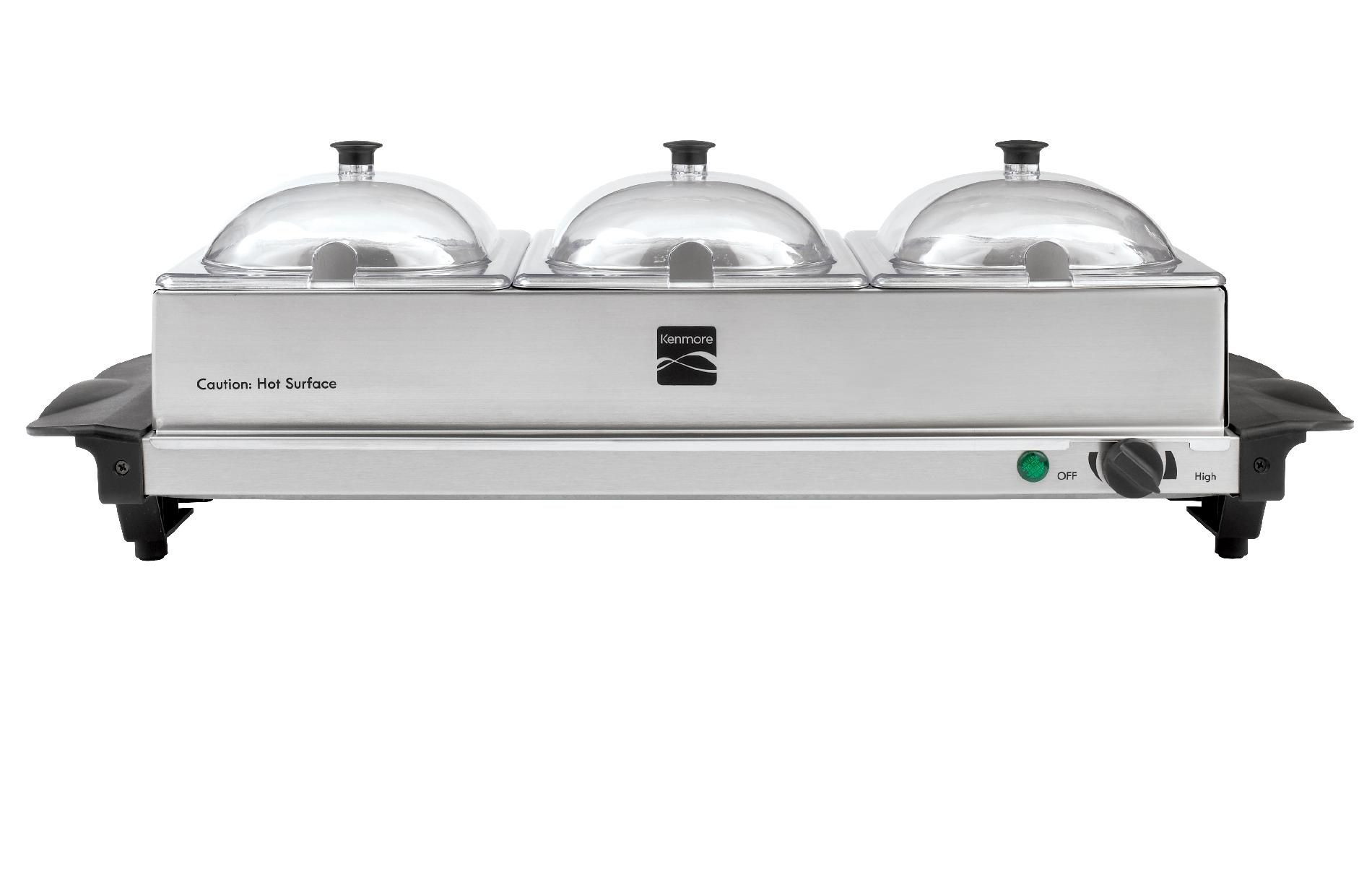 Kenmore Triple Buffet Server