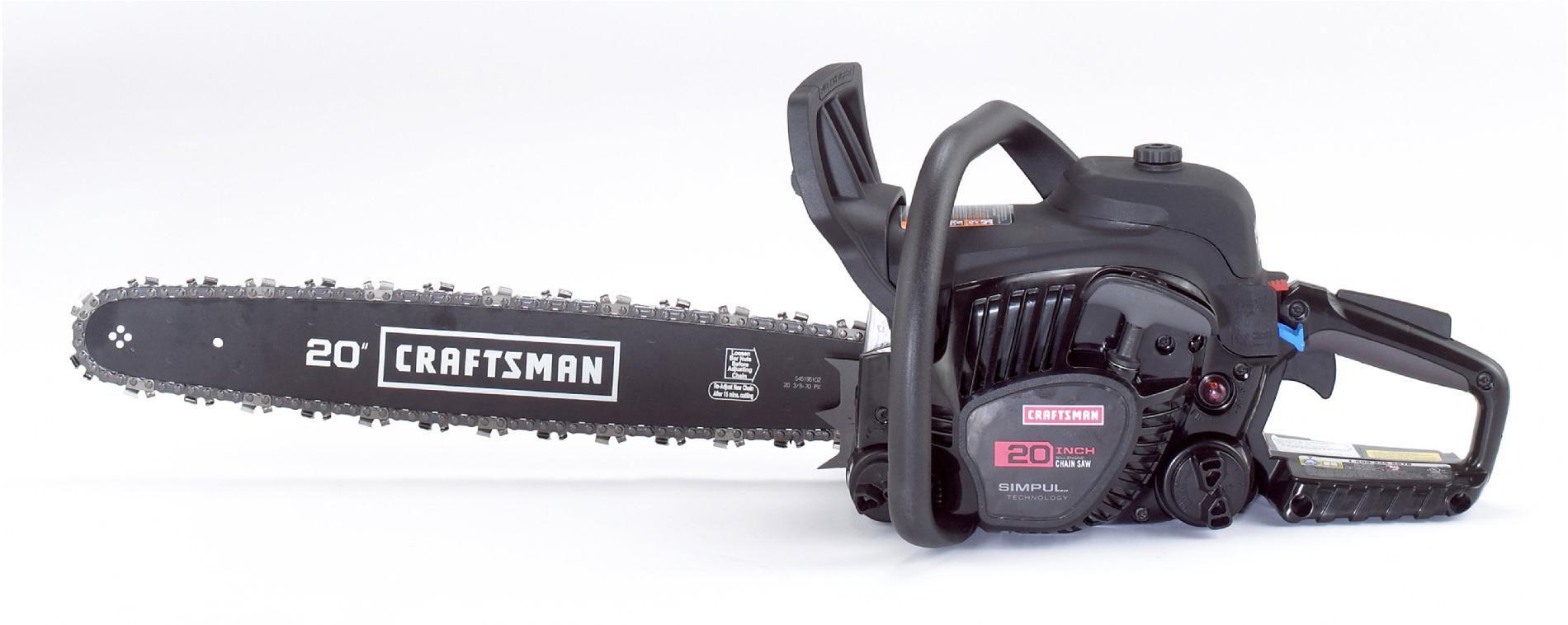 "Craftsman 50cc 2-Cycle 20"" Gas Chainsaw"