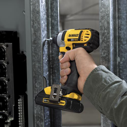 DeWalt 20 V MAX* Lithium Ion 1/4 In. Impact Driver Kit (1.5Ah)