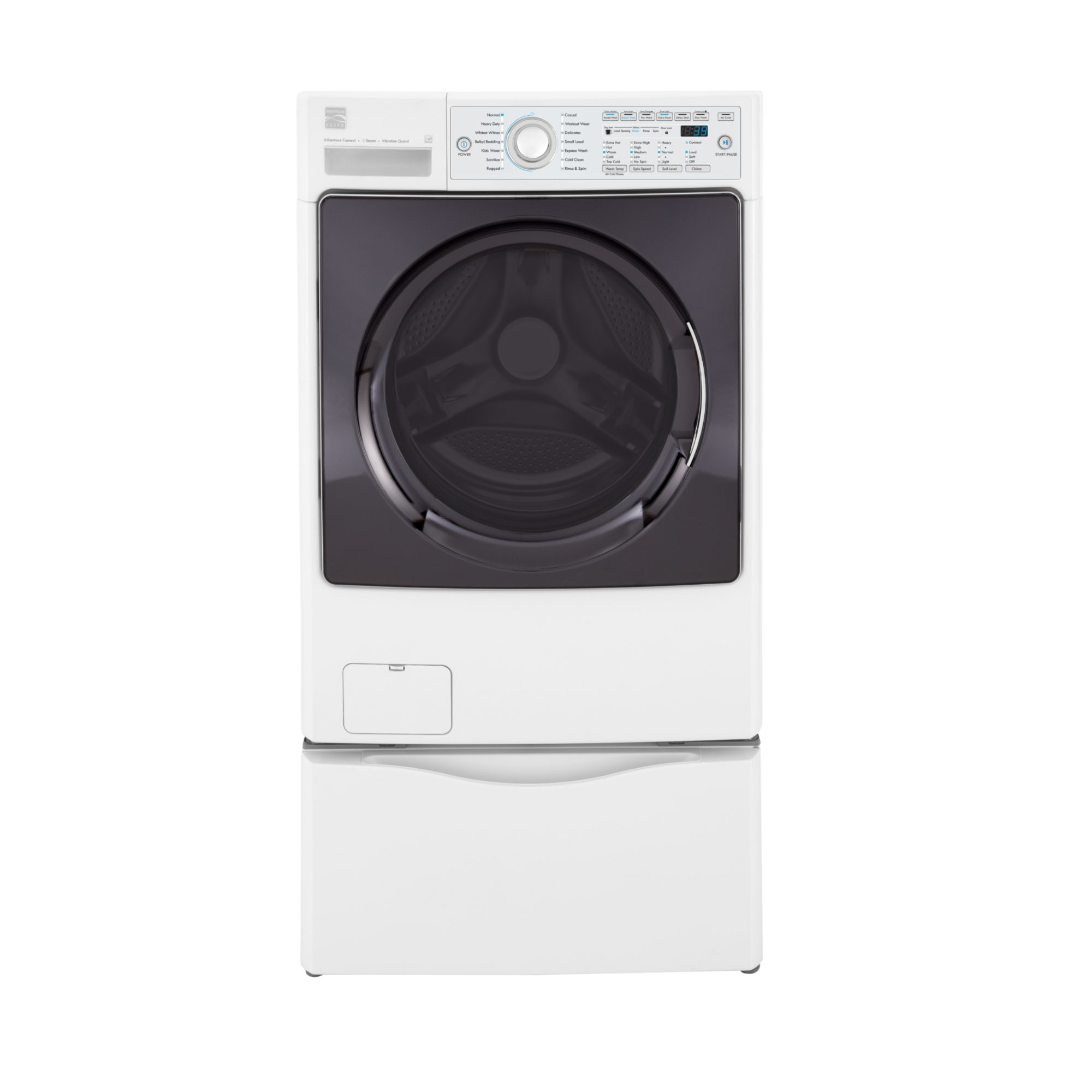 Kenmore Elite 4.3 cu. ft. Steam  Front-Load Washer - White