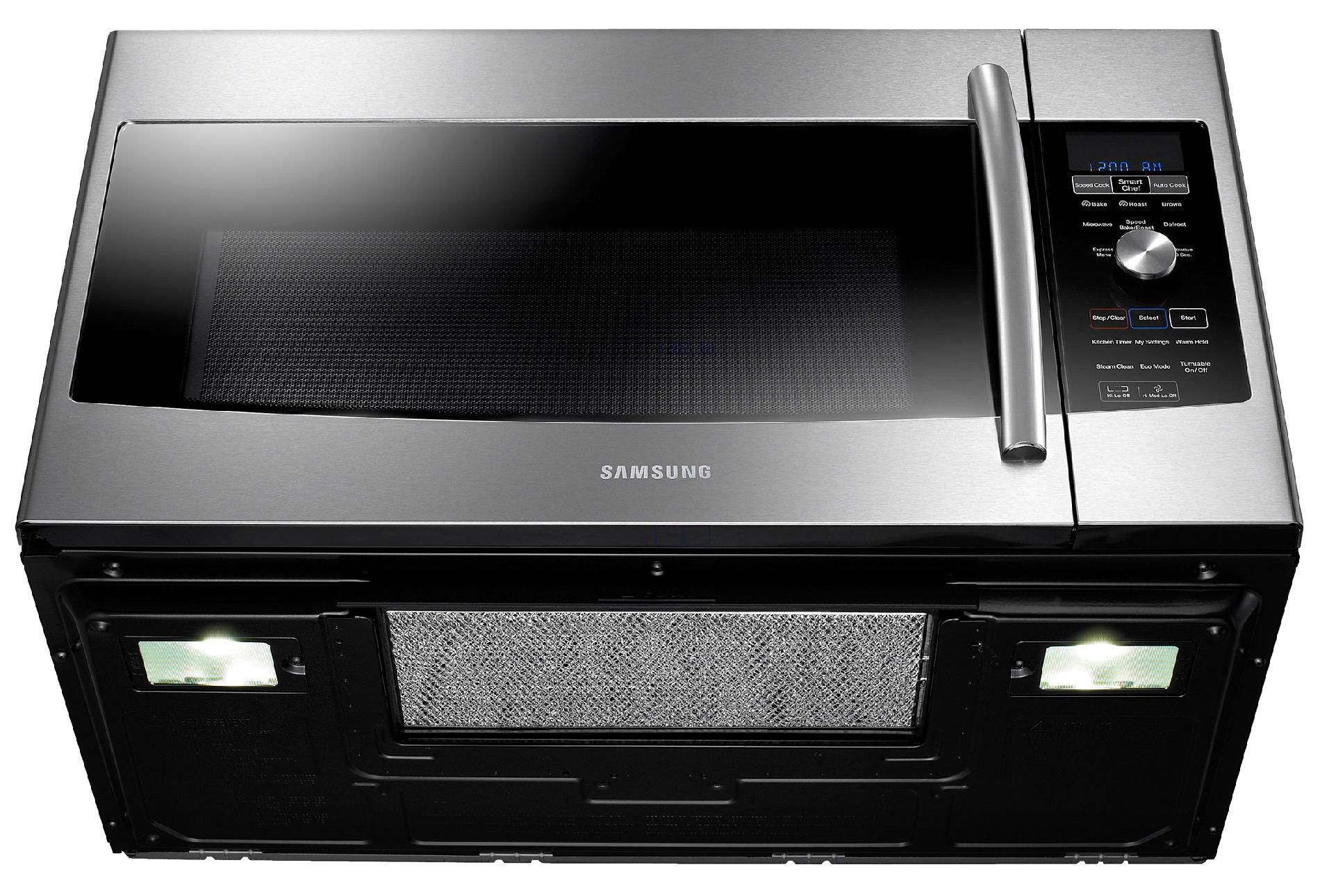 Samsung 1.7 cu. ft. Over-the-Range Speed Microwave Oven w/Convection - Stainless Steel